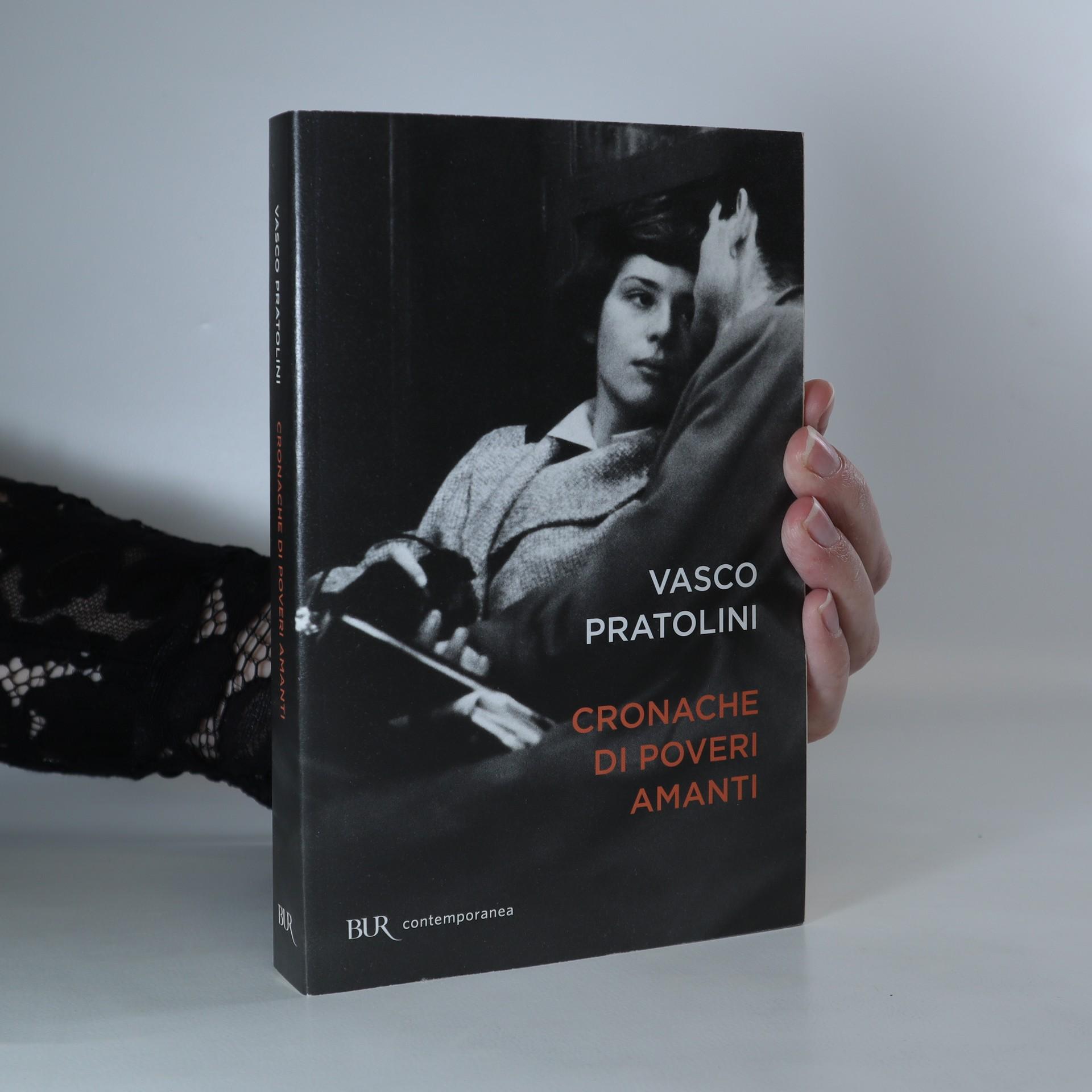 antikvární kniha Cronache di poveri amanti, 2016