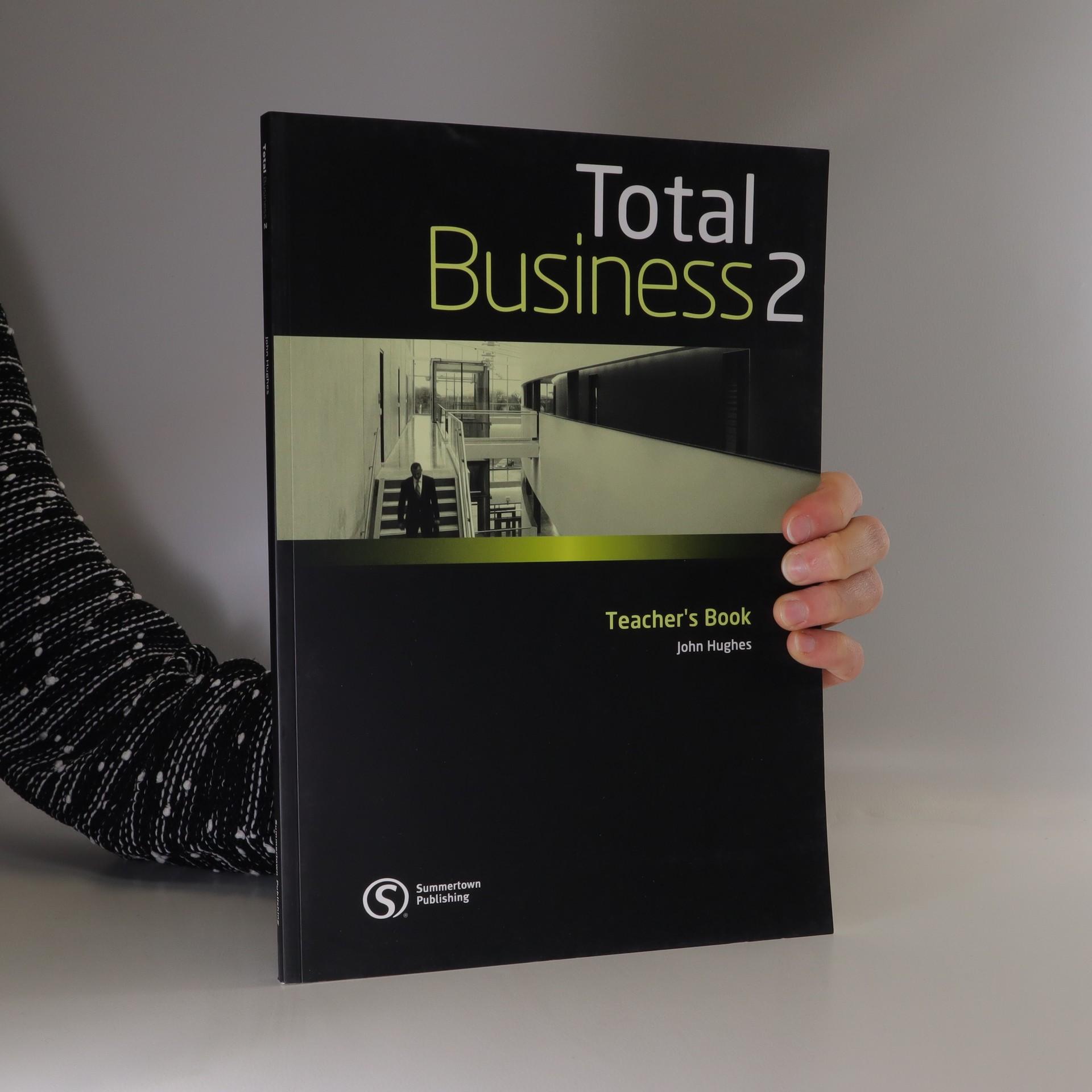antikvární kniha Total business 2. Teacher's book, 2009