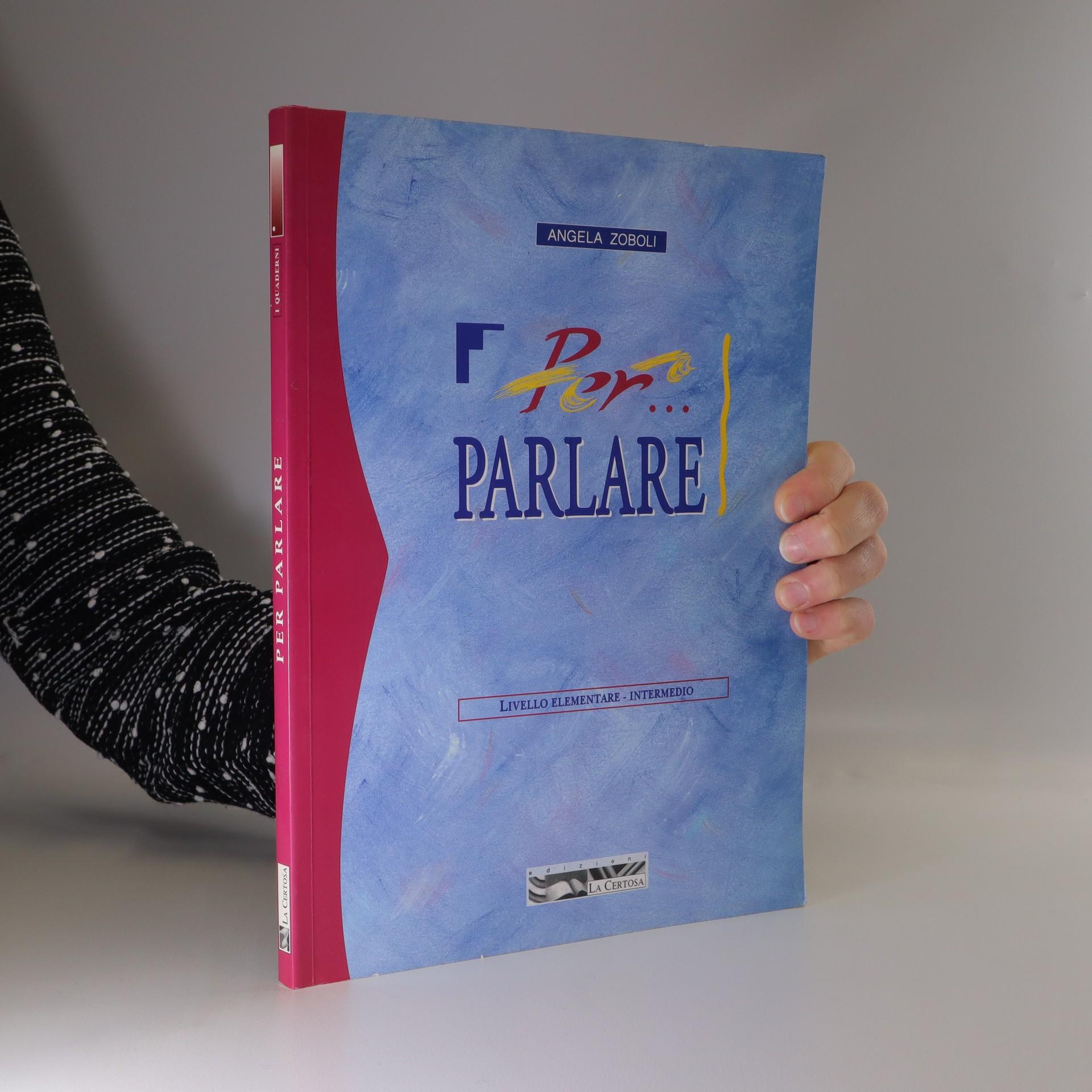 antikvární kniha Per parlare. Livello elementare - intermedio, 2000