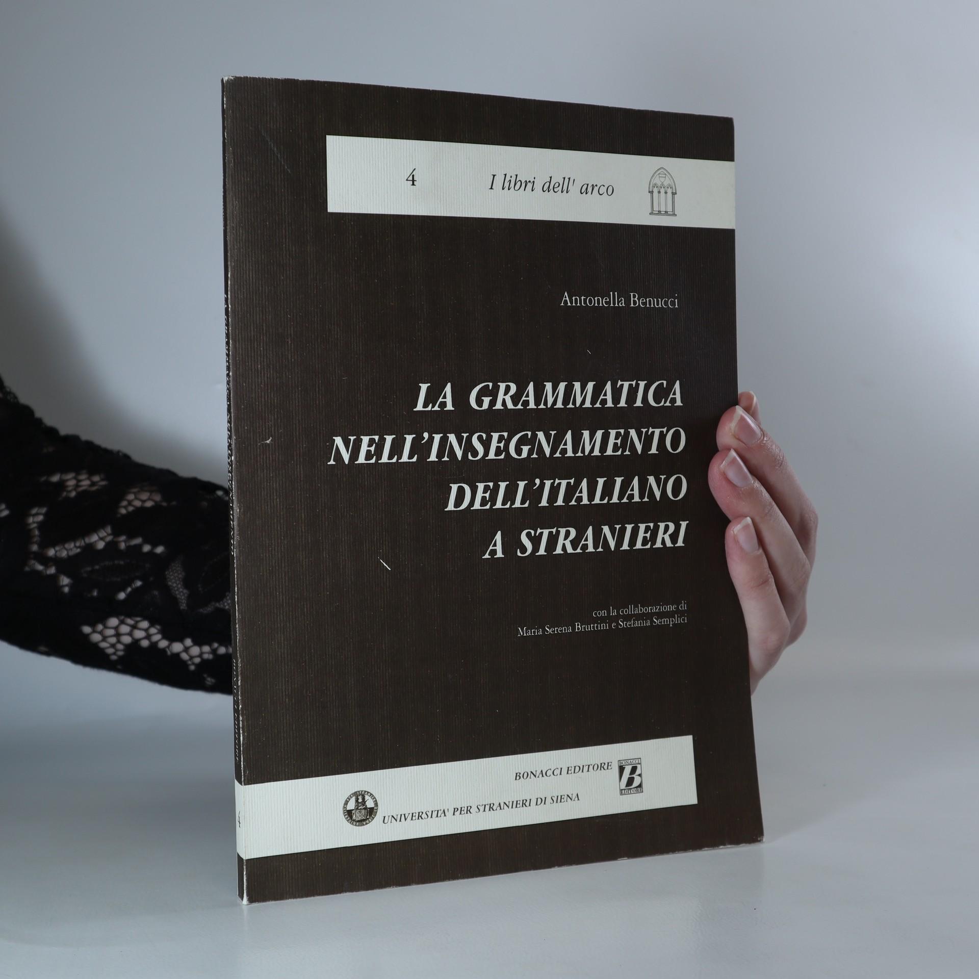 antikvární kniha La grammatica nell'insegnamento dell'italiano a stranieri, neuveden