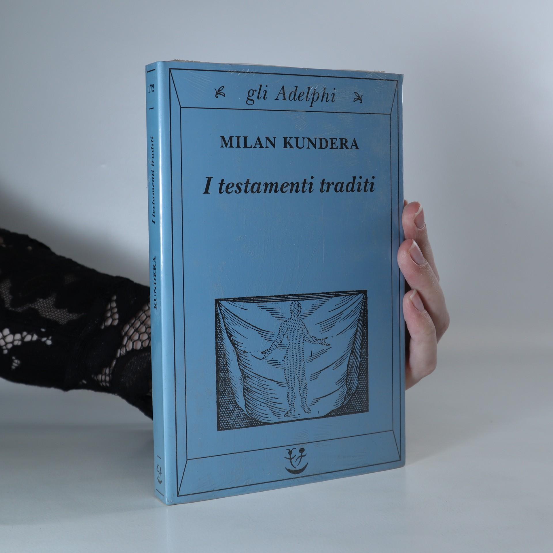 antikvární kniha I testamenti traditi, neuveden