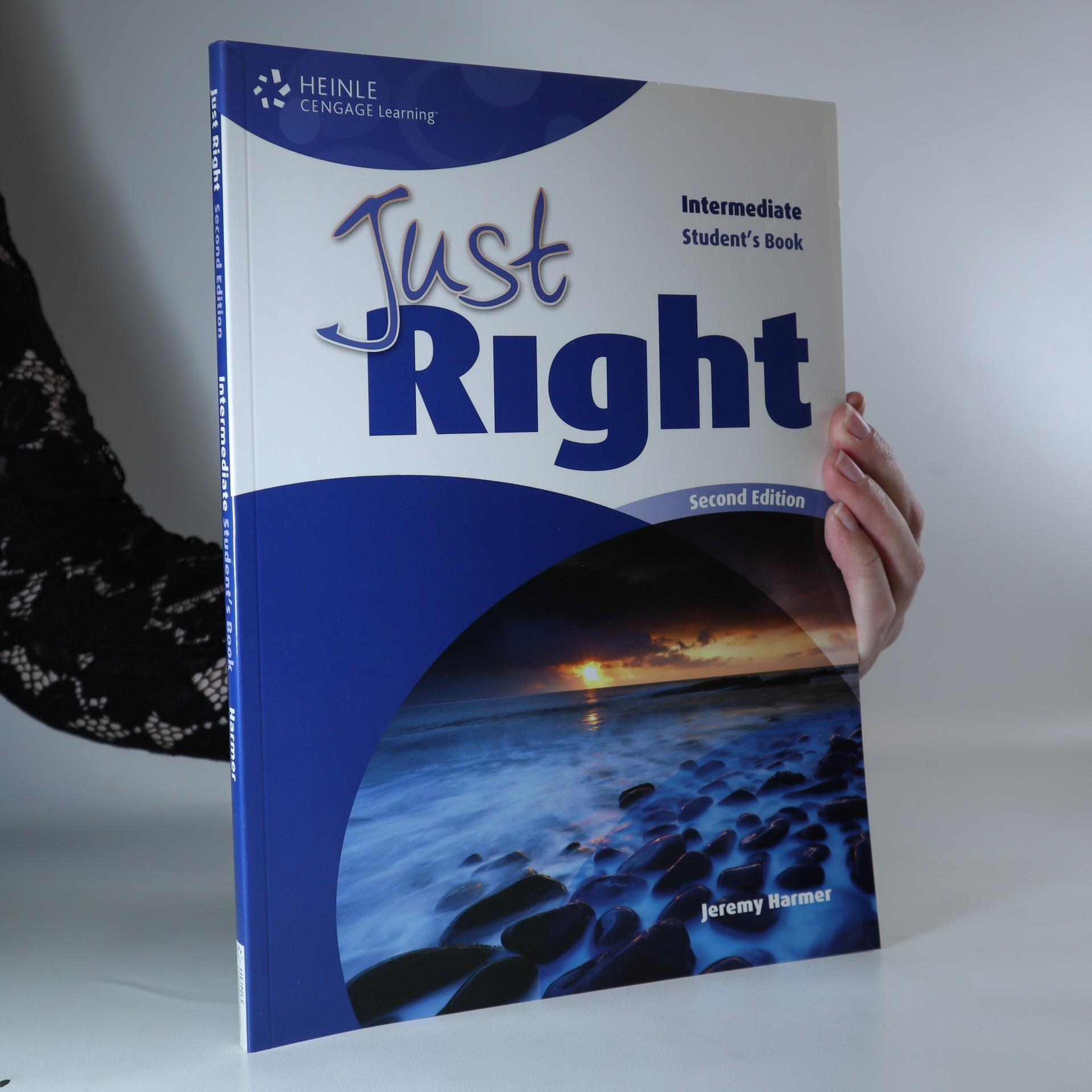 antikvární kniha Just Right. Intermediate. Student's Book, neuveden