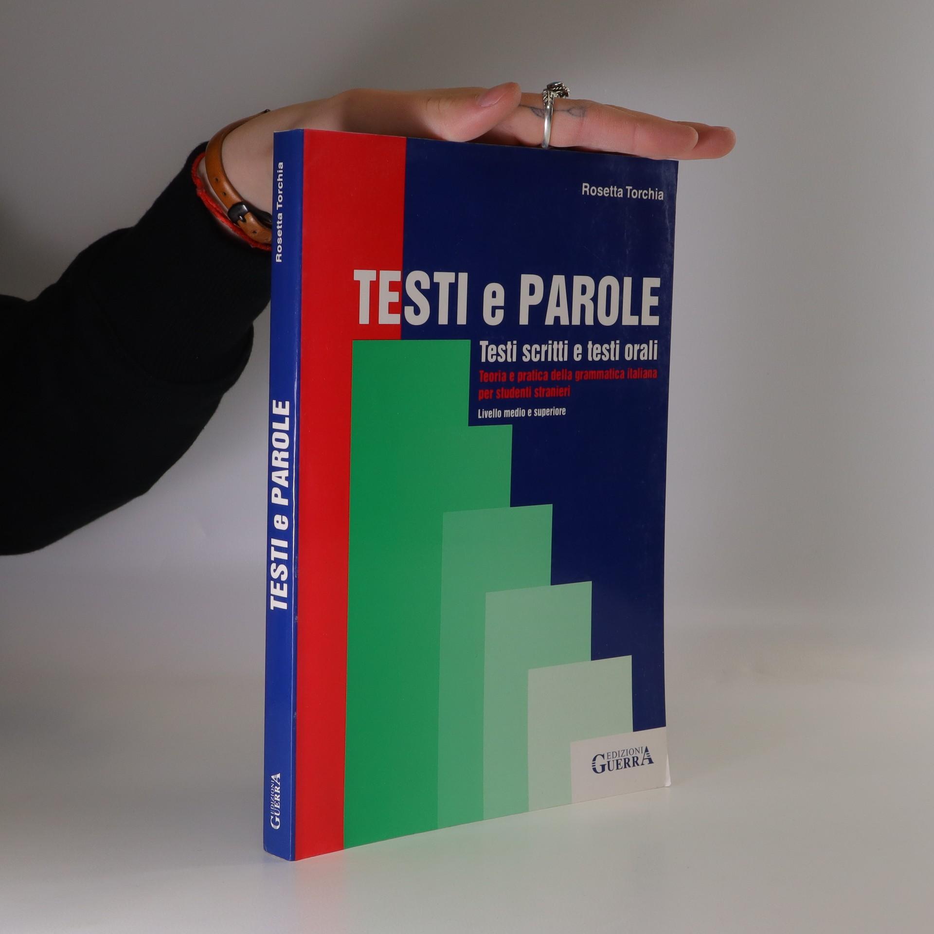 antikvární kniha Testi e parole : testi scritti e testi orali, 2003