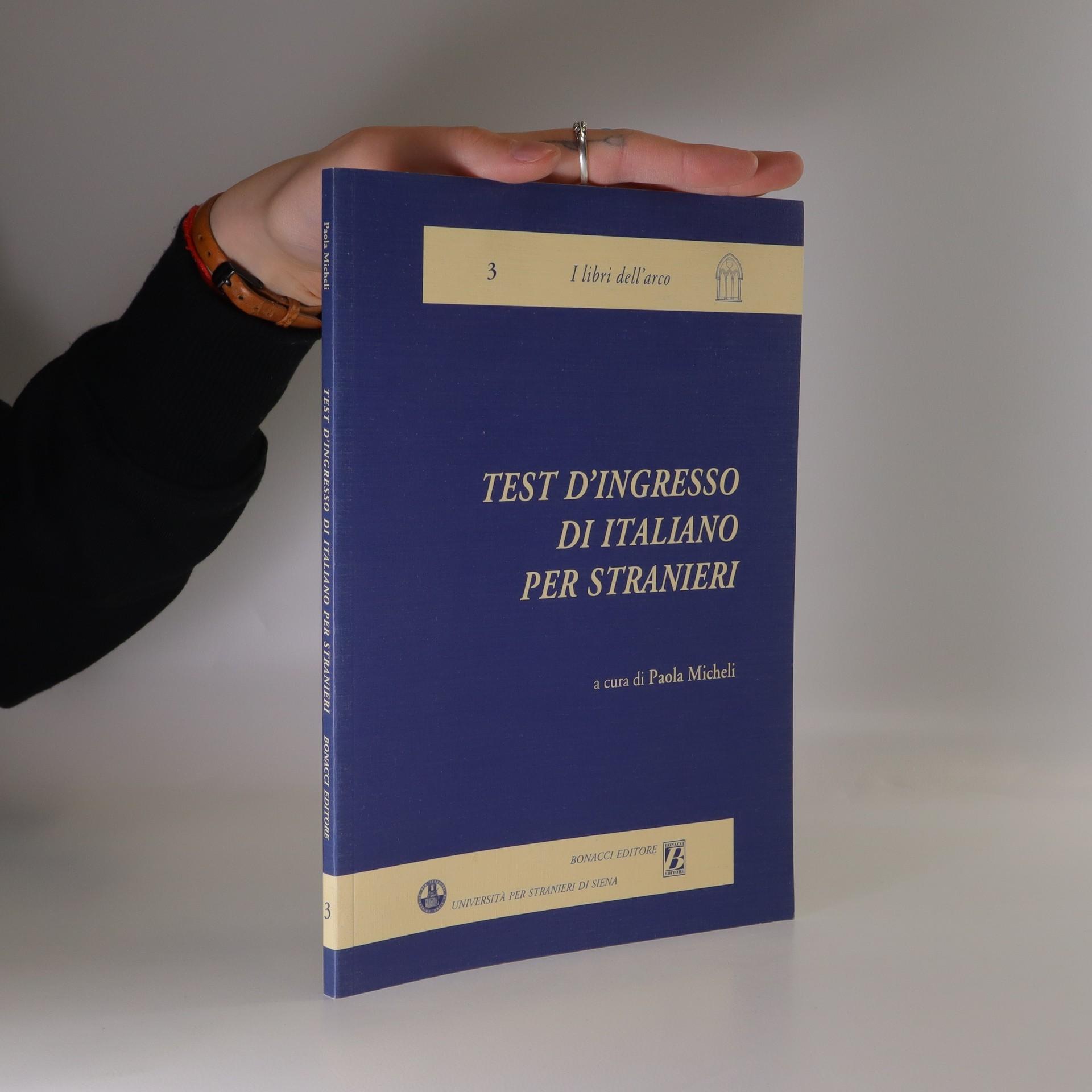 antikvární kniha Test d'ingresso di italiano per stranieri, 1994