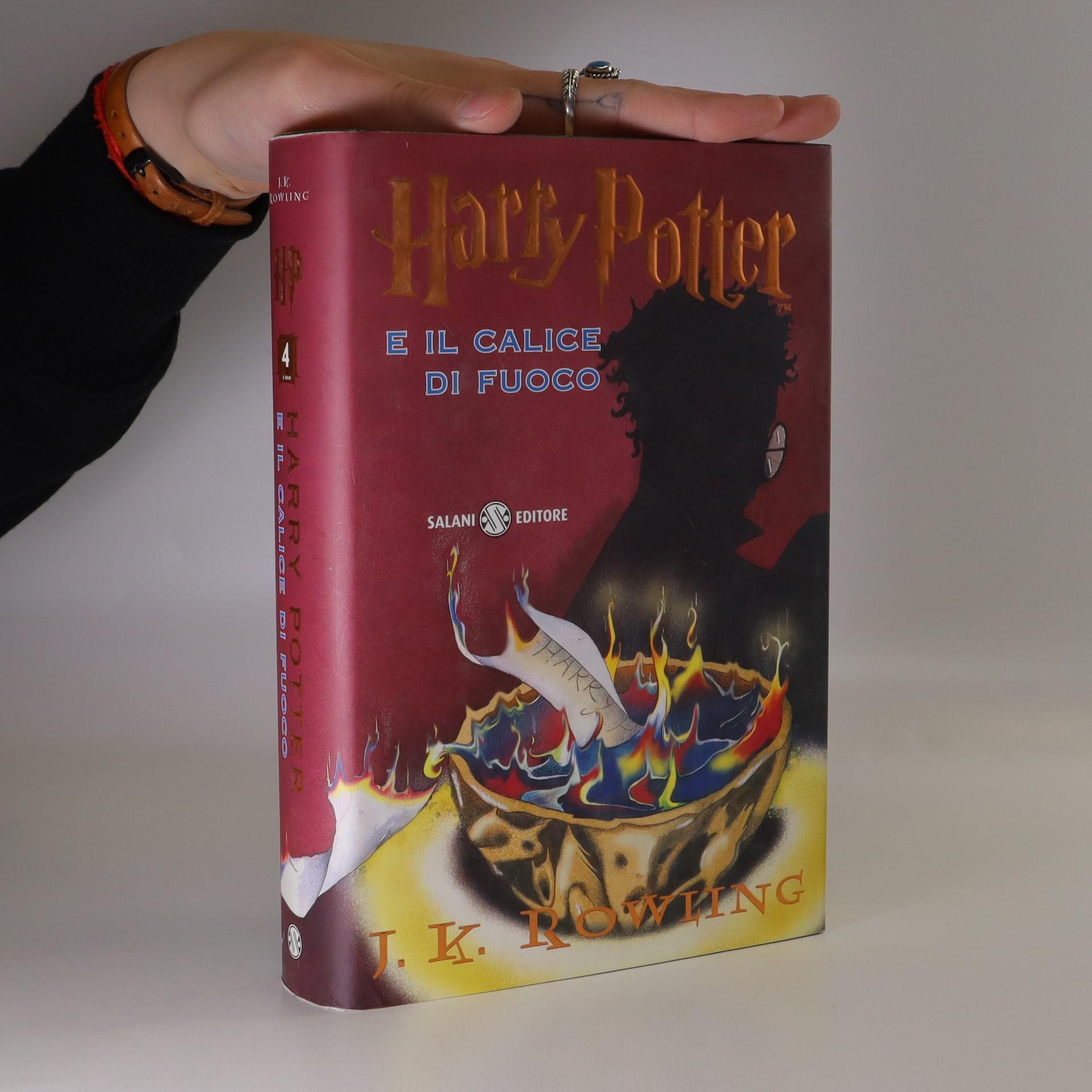 antikvární kniha Harry Potter e il calice di fuoco, 2002