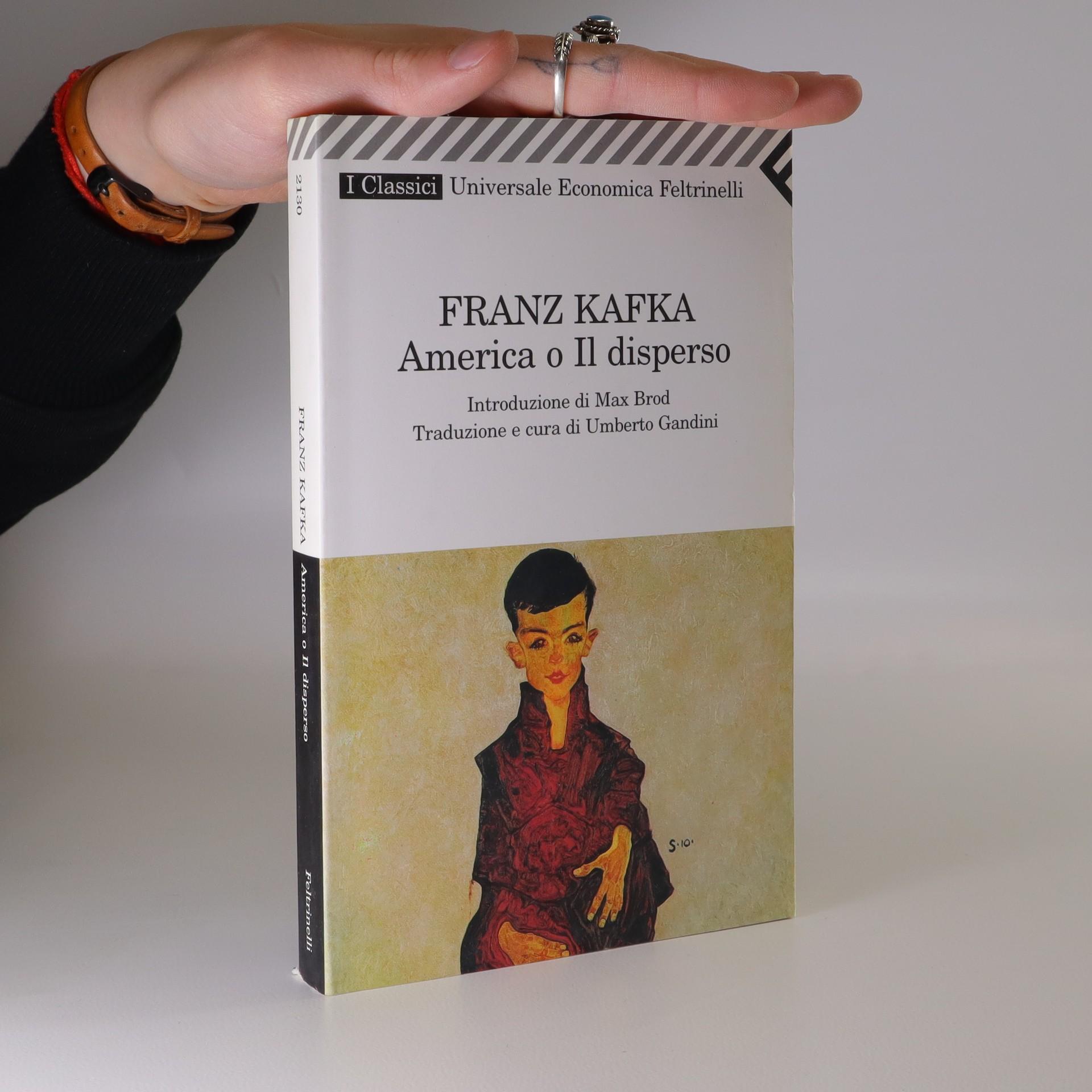 antikvární kniha America o il disperso, neuveden