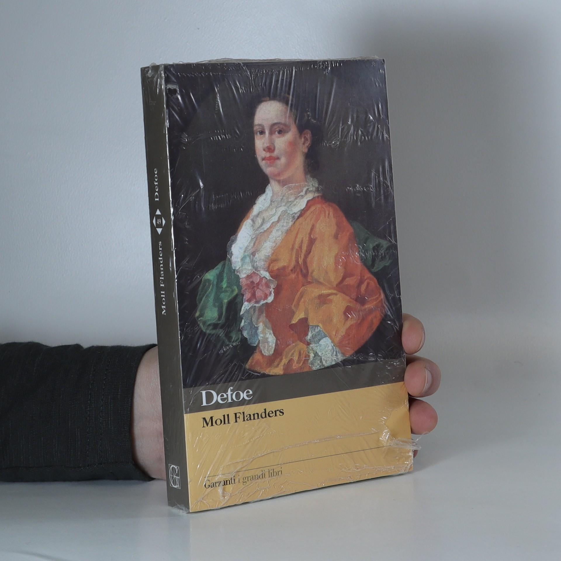 antikvární kniha Moll Flanders, neuveden