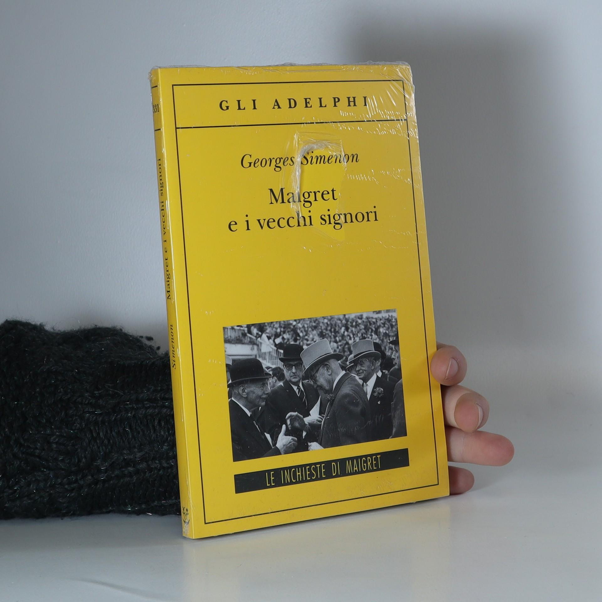 antikvární kniha Maigret e i vecchi signori, 2008