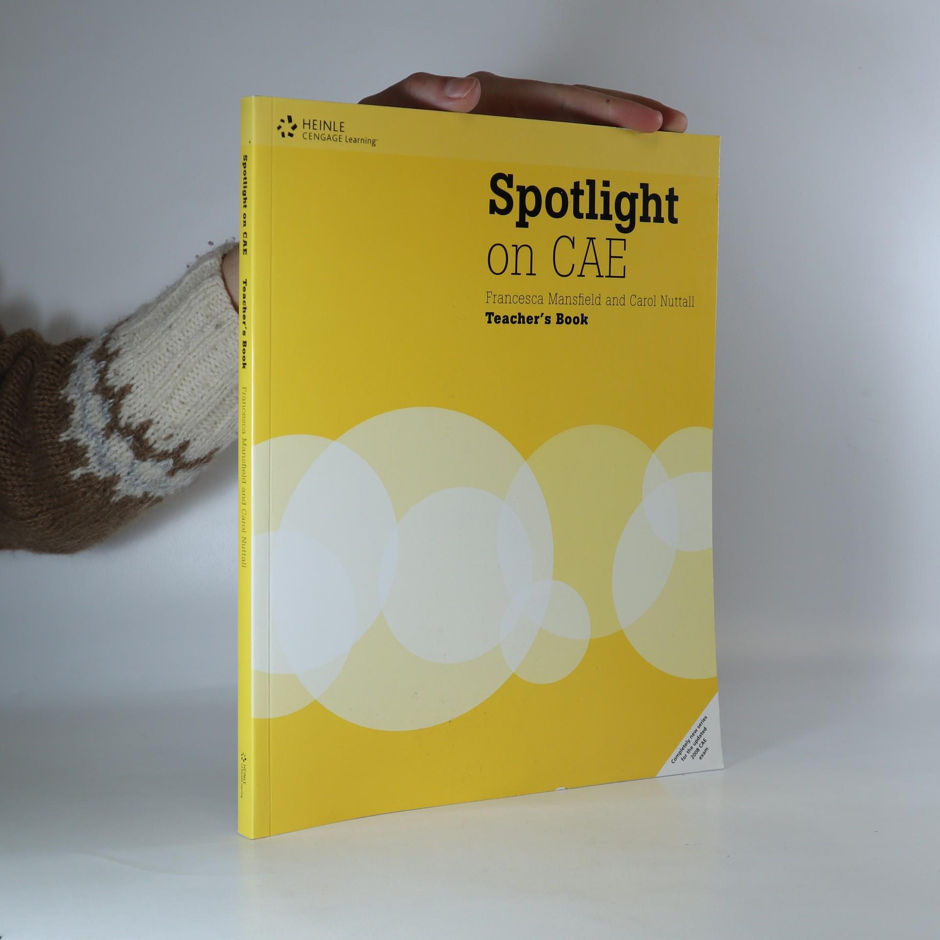 antikvární kniha Spotlight on CAE. Teacher's book., neuveden
