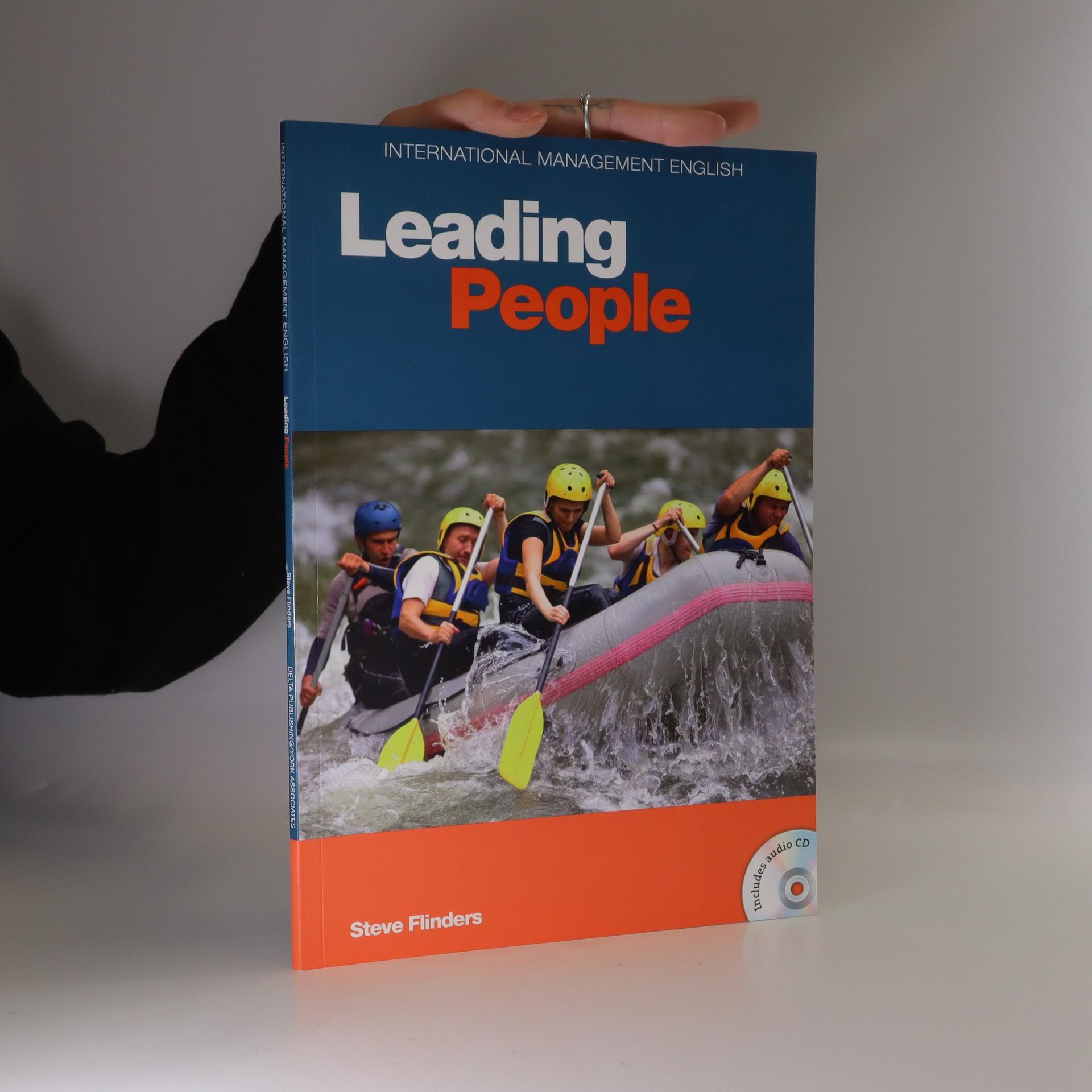 antikvární kniha Leading people, neuveden