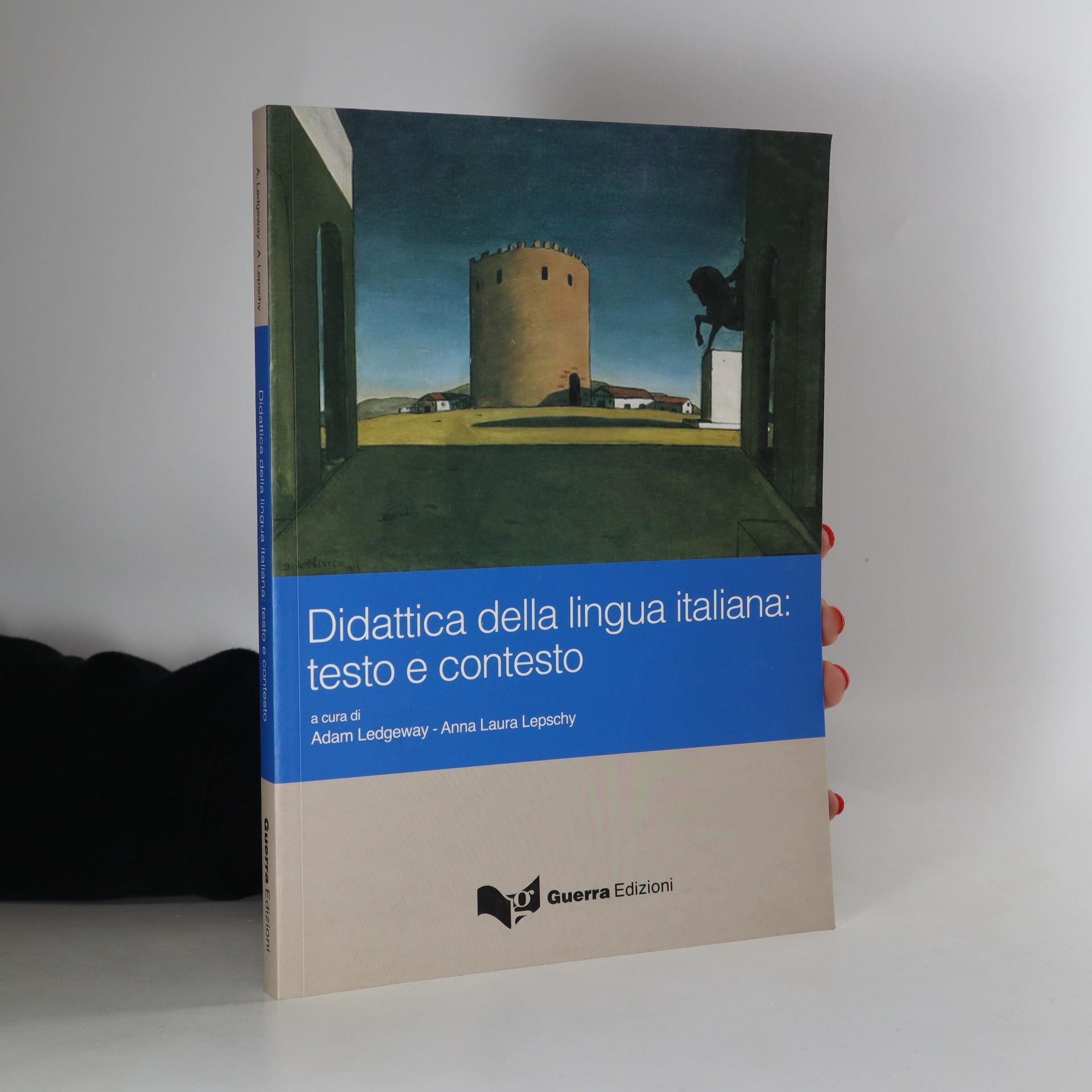 antikvární kniha Didattica della lingua italiana, neuveden