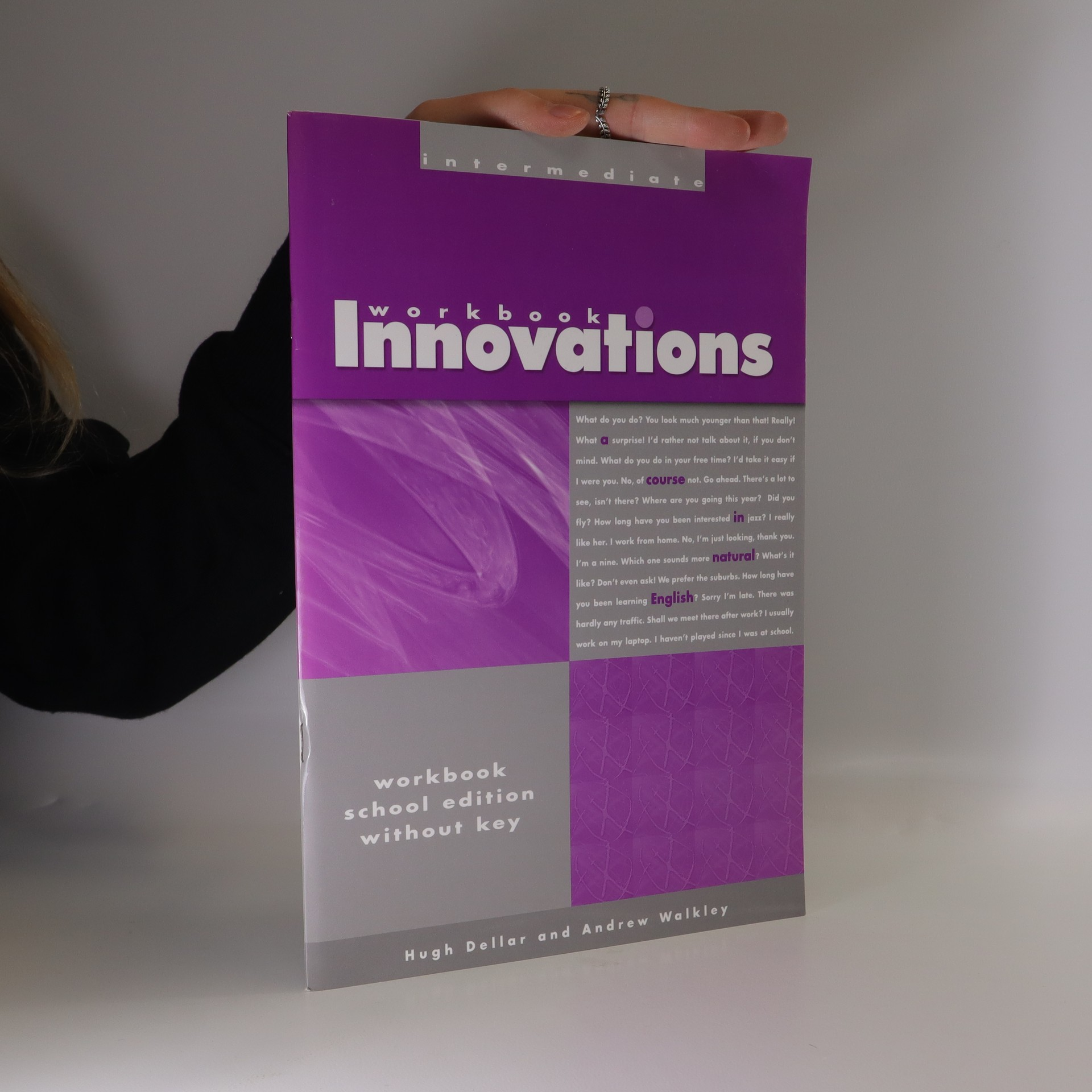 antikvární kniha Innovations Workbook Intermediate, neuveden