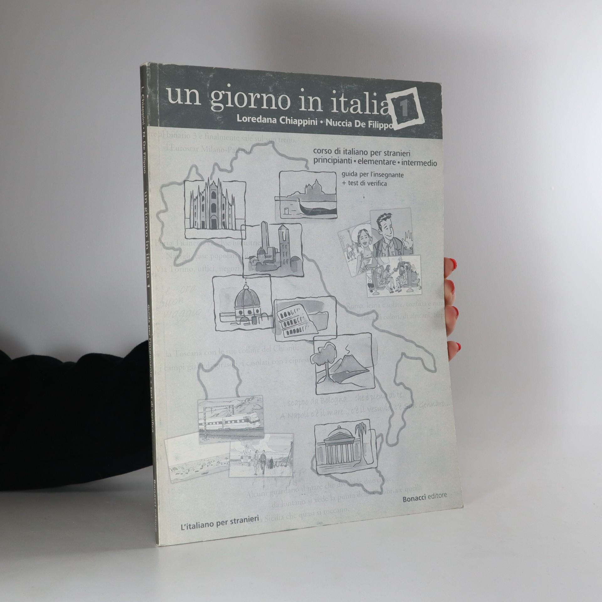 antikvární kniha Un giorno in Italia 1, neuveden