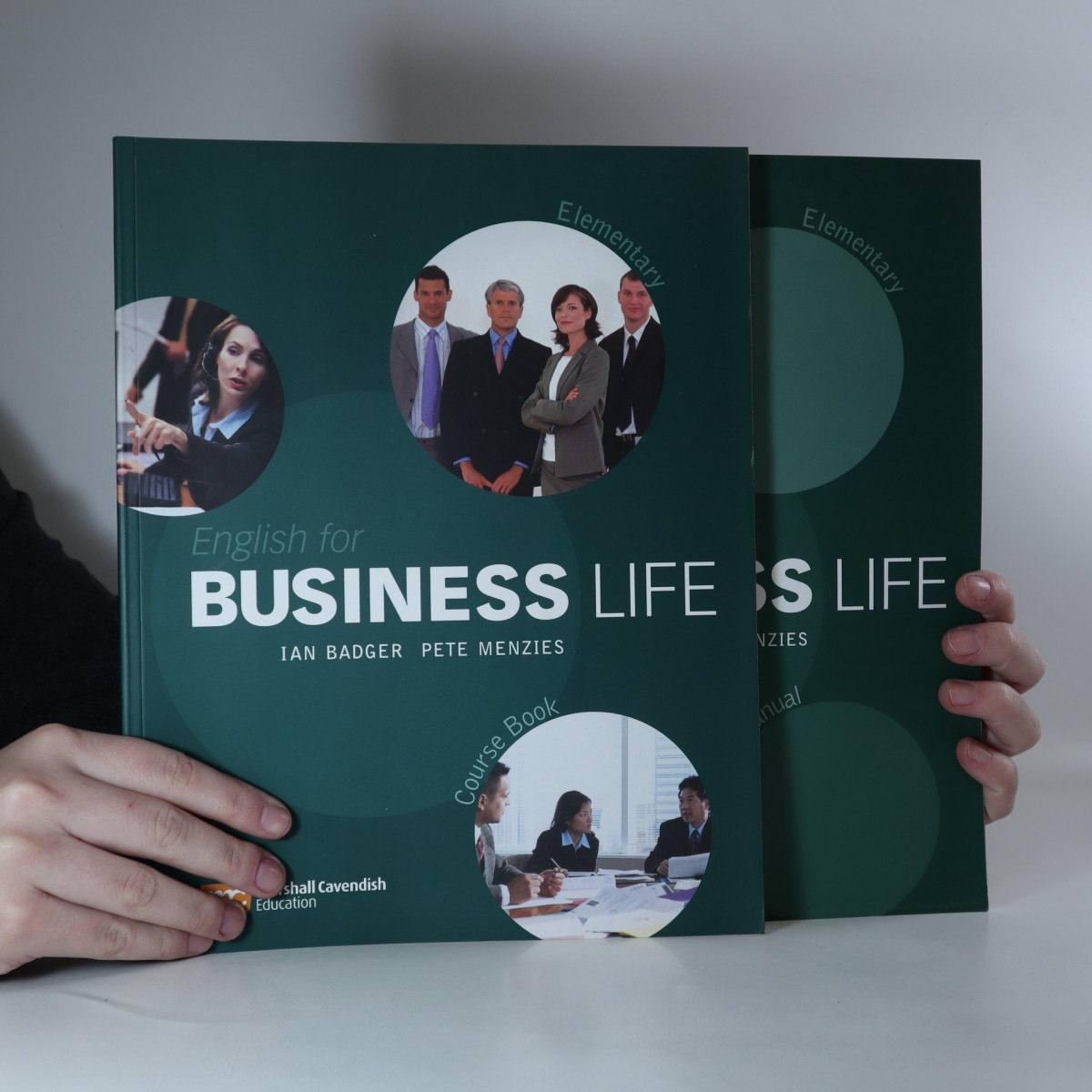 antikvární kniha English for Business Life Elementary. Course book. Trainer's manual. (komplet, 2 svazky), 2005