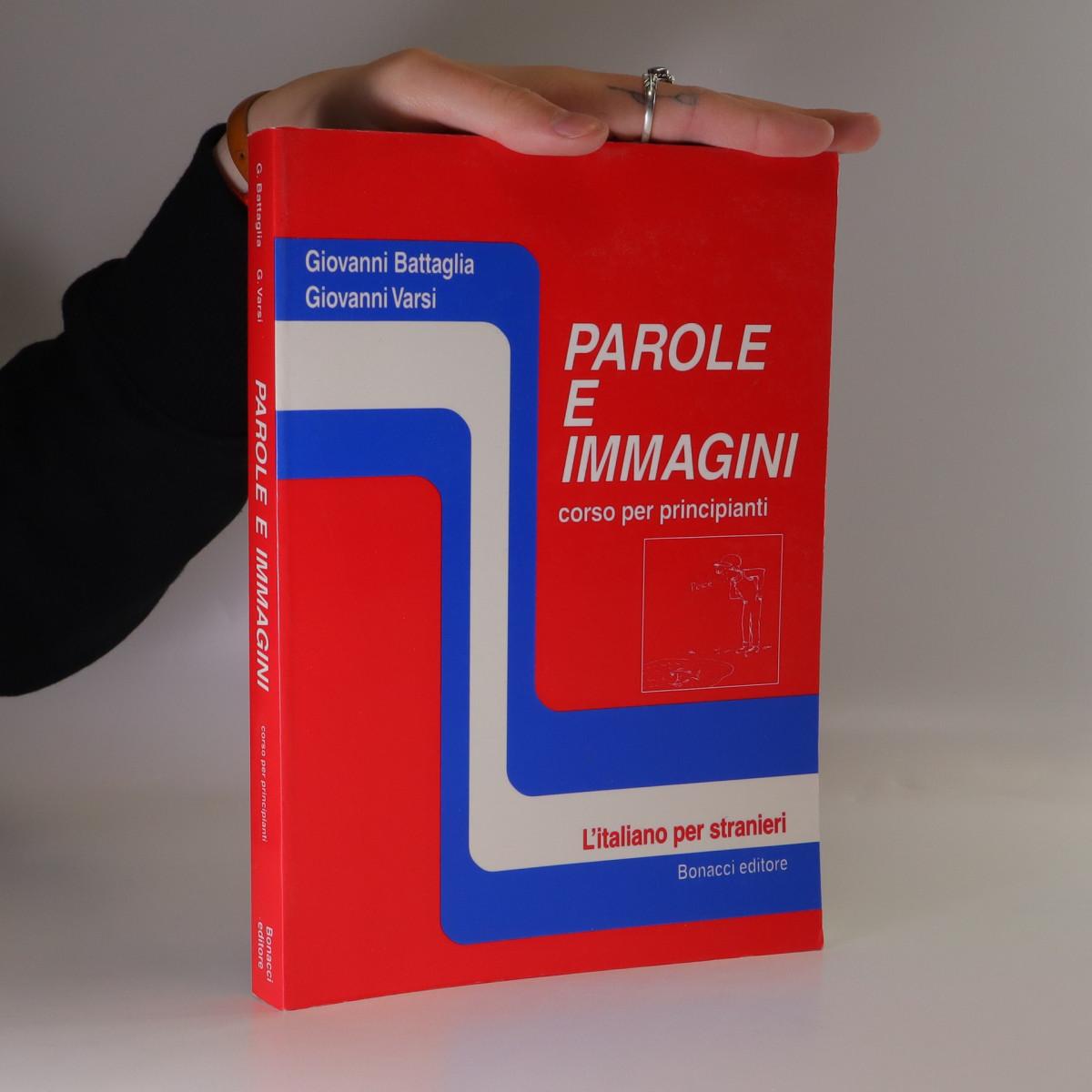 antikvární kniha Parole e immagini, 1994