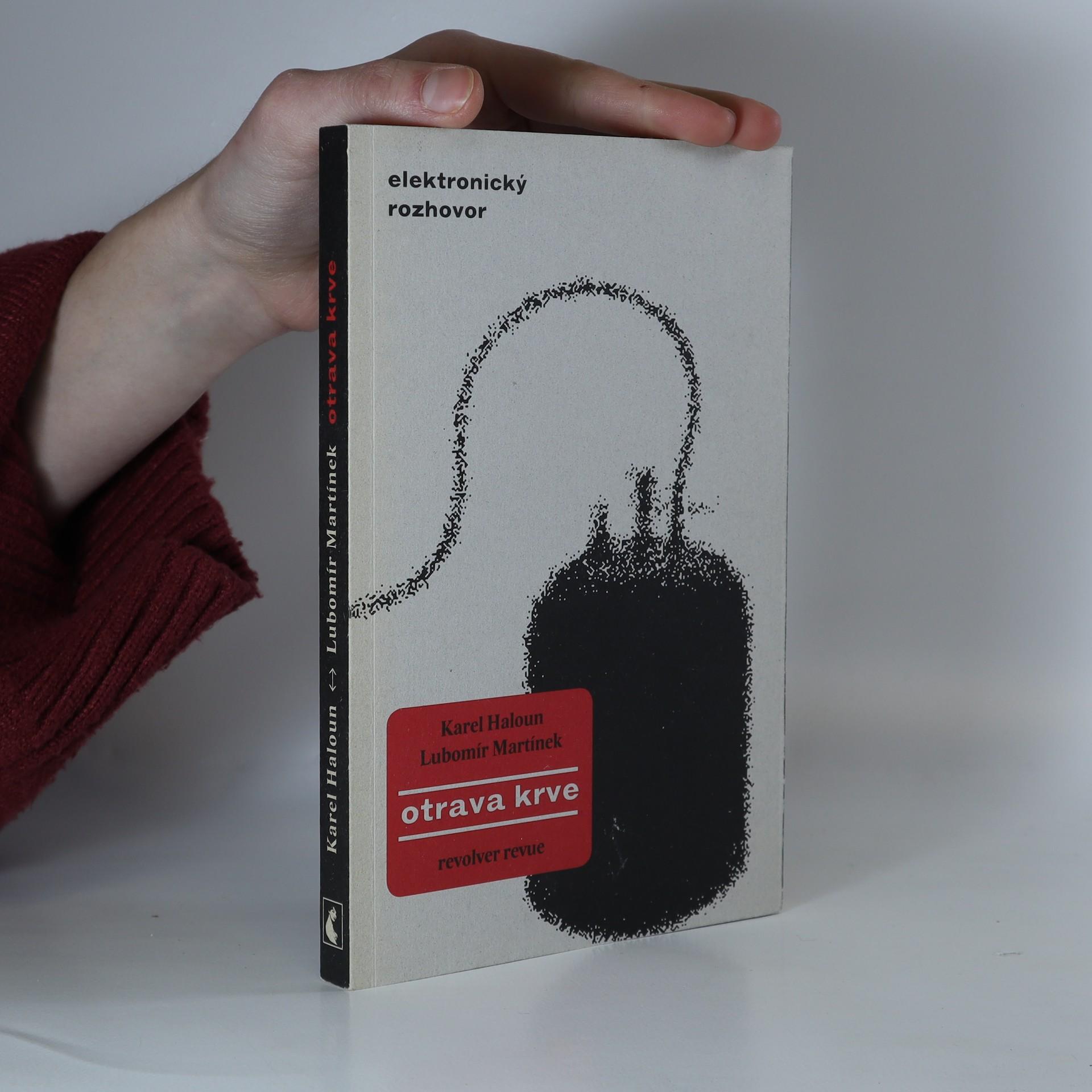 antikvární kniha Otrava krve. Elektronický rozhovor, 2009