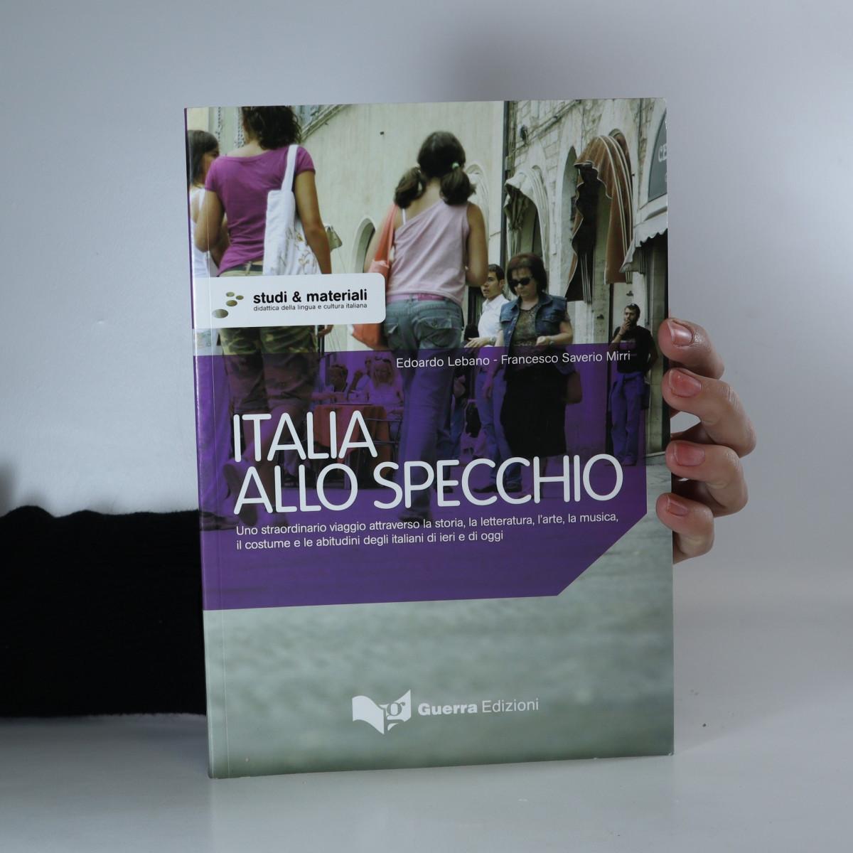 antikvární kniha Italia allo specchio, 2007