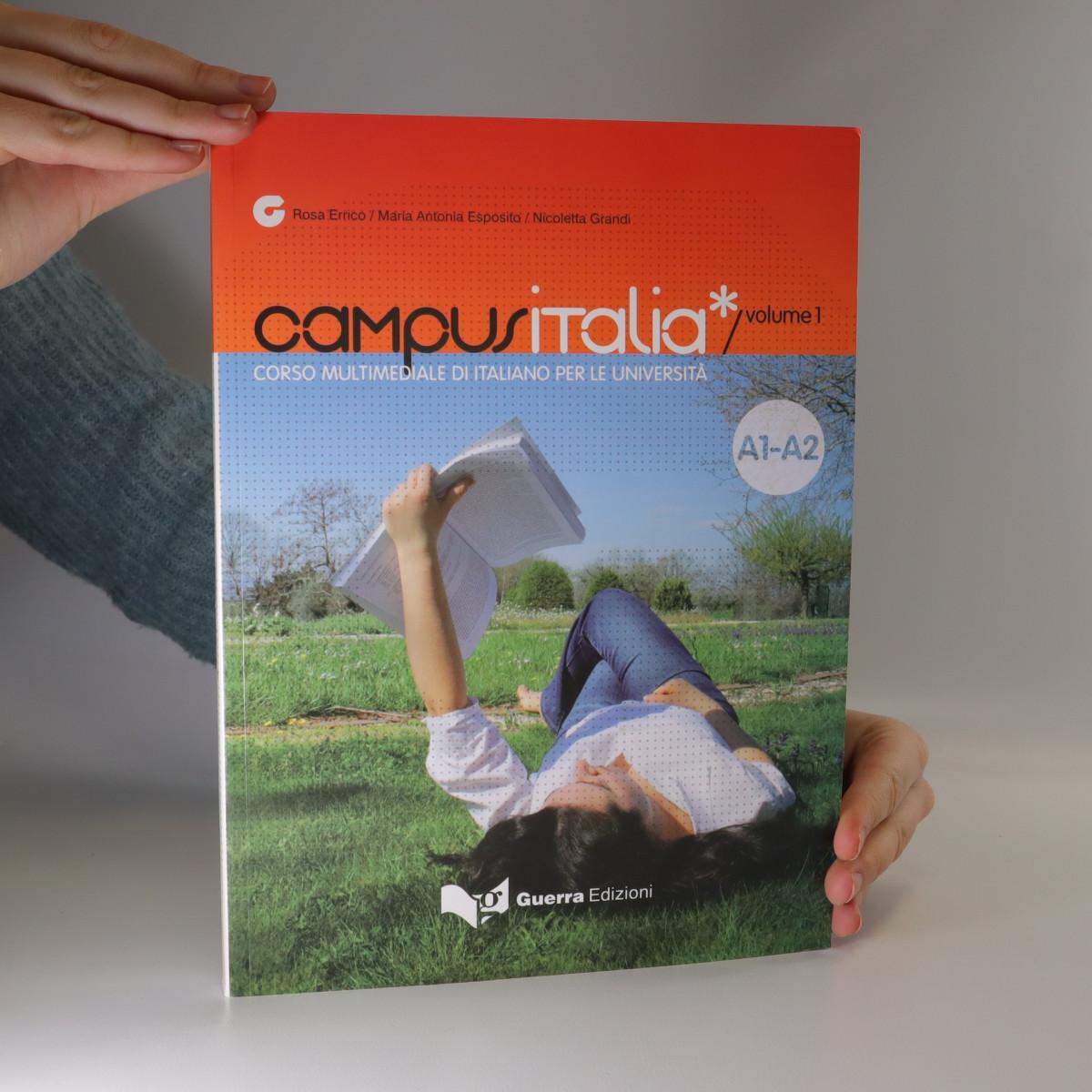 antikvární kniha Campus Italia, neuveden