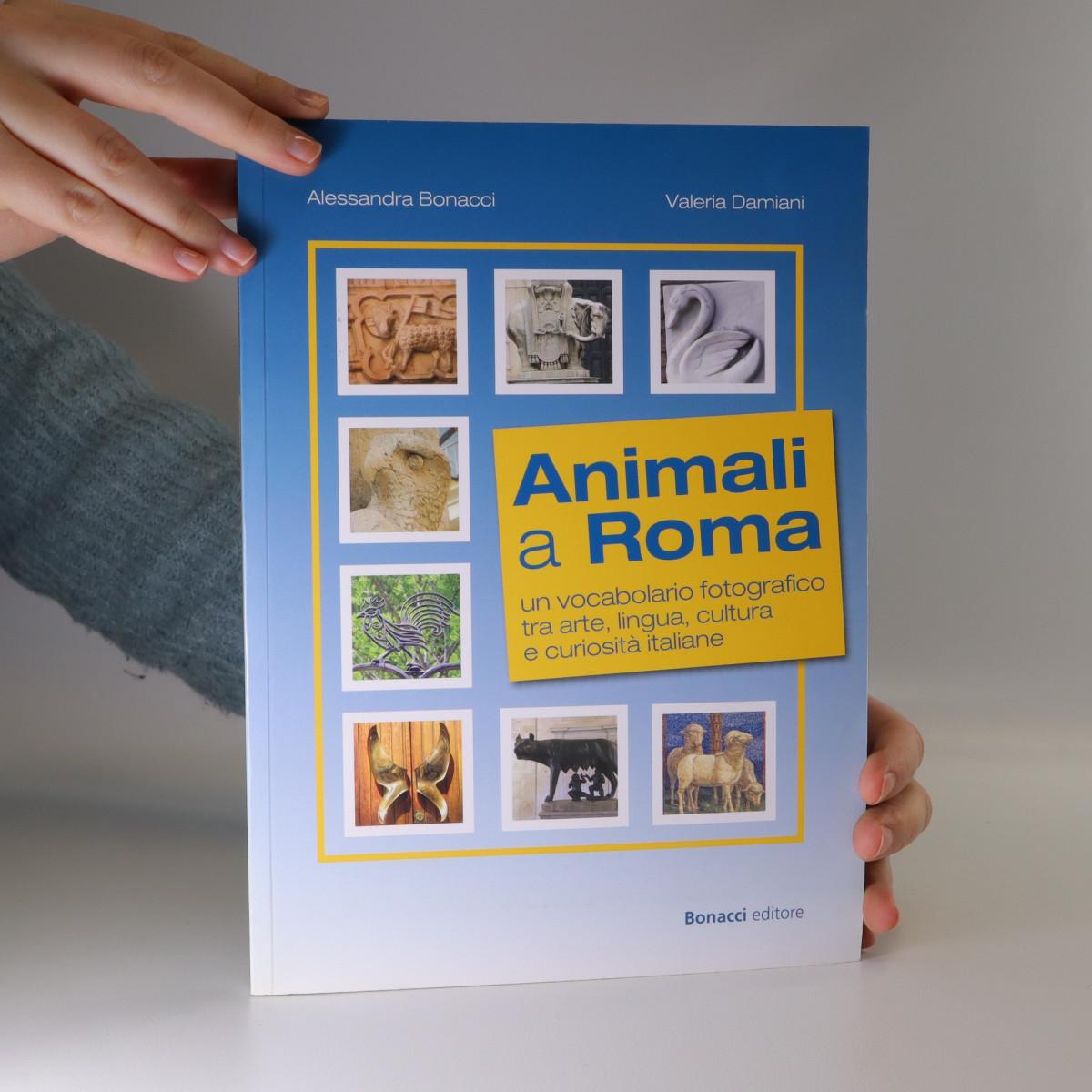 antikvární kniha Animali a Roma, neuveden