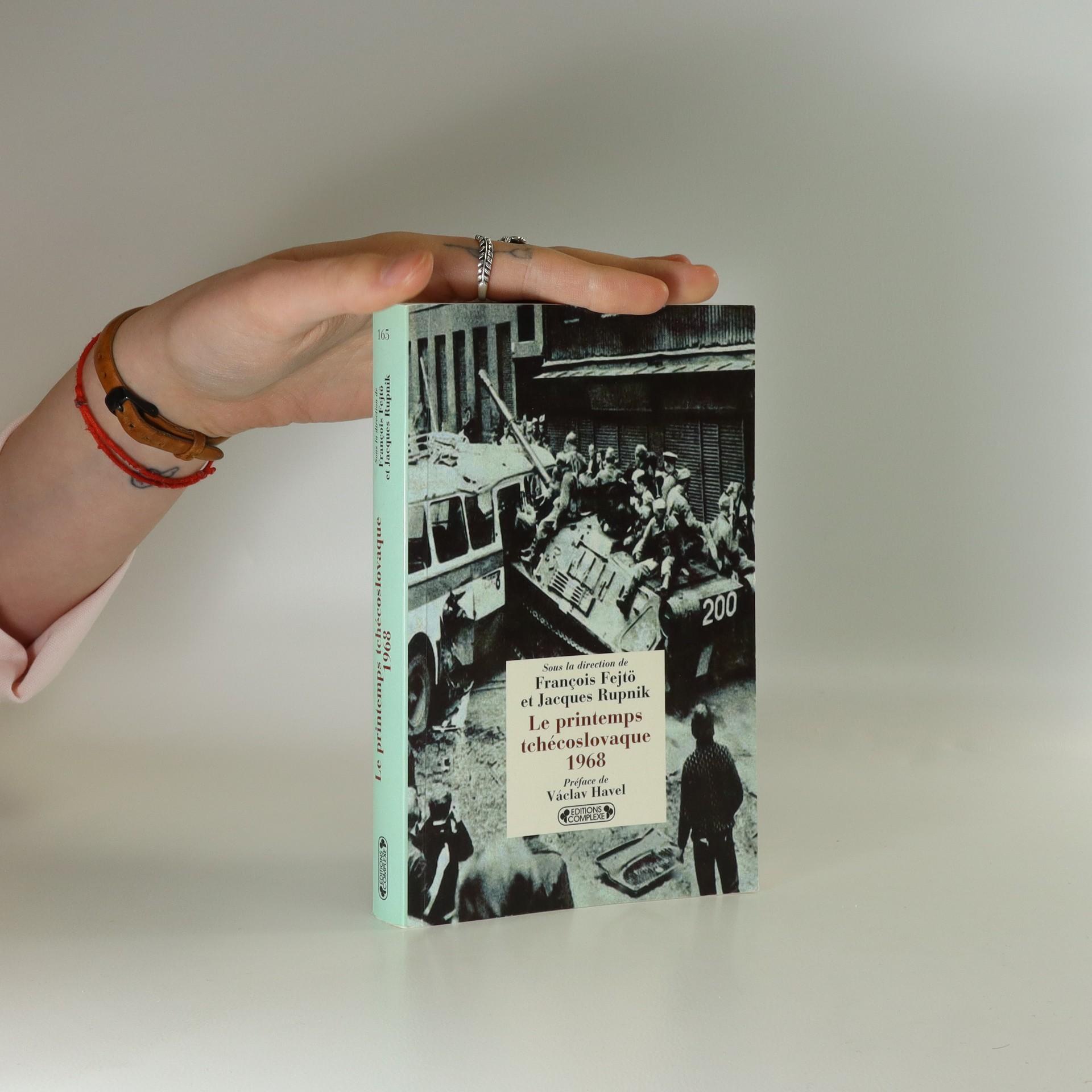 antikvární kniha Le printemps tchćoslovaque 1968, 2008