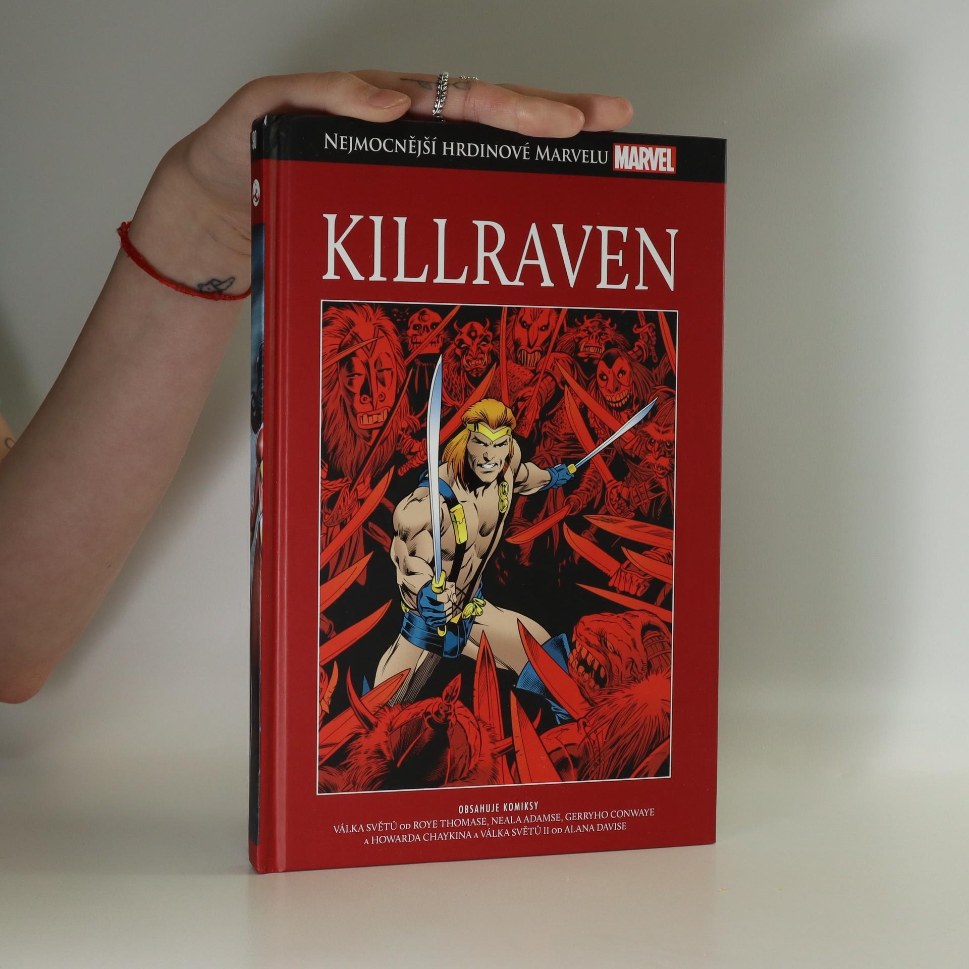 antikvární kniha Marvel Killraven, neuveden