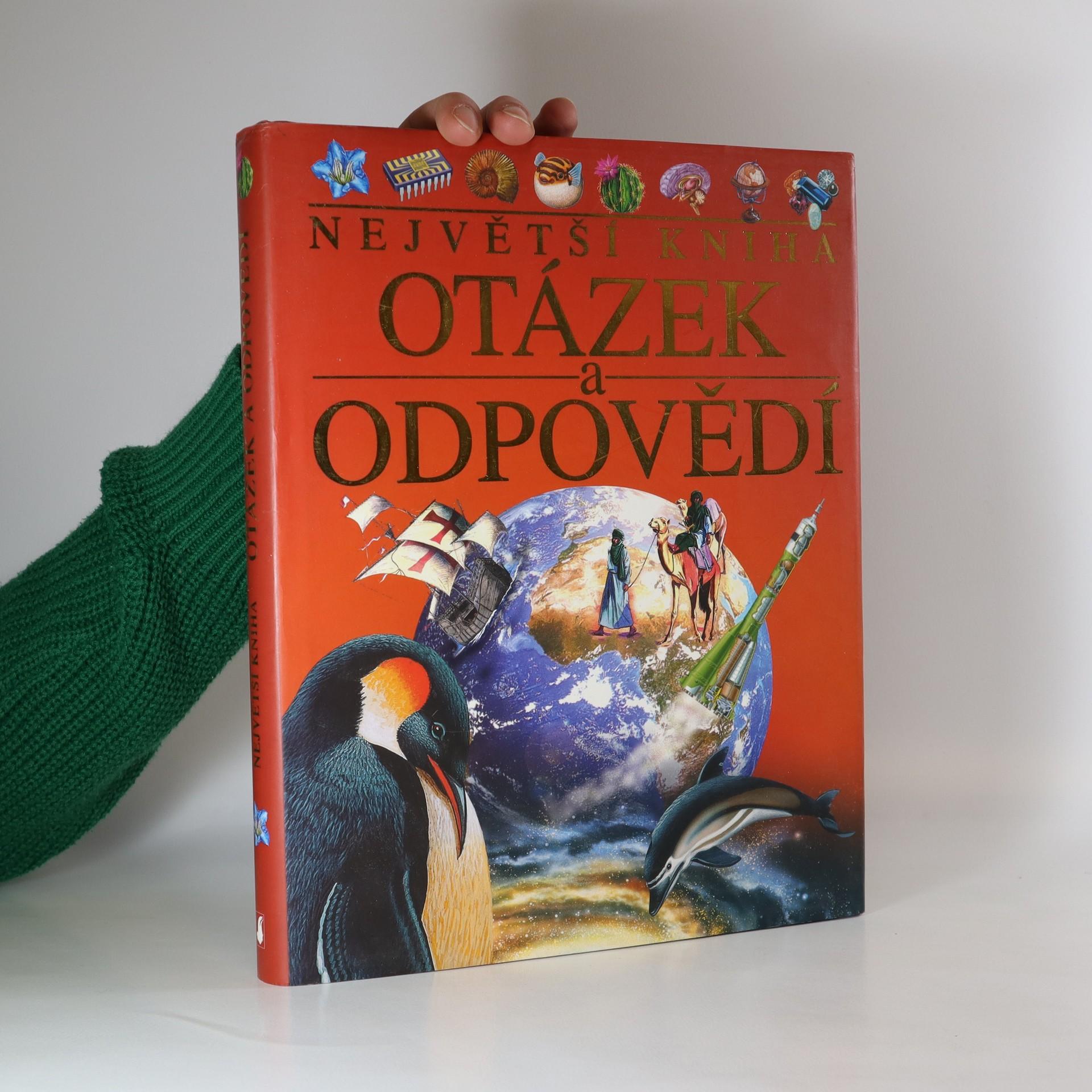 antikvární kniha Největší kniha otázek a odpovědí, 2004
