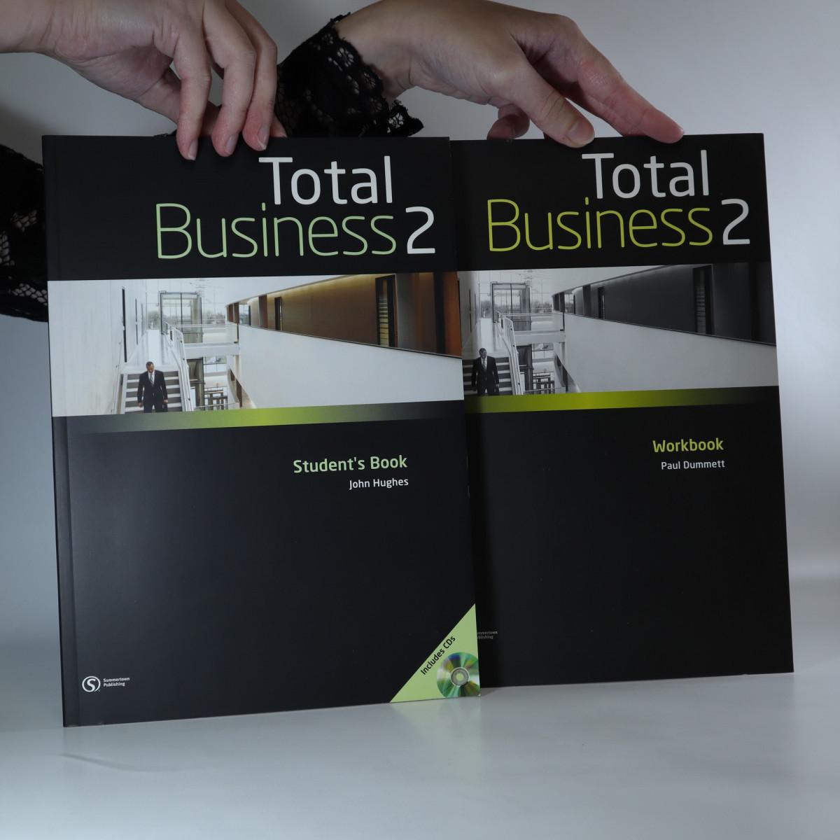 antikvární kniha Total Business 2. Student's Book + Workbook (včetně CD, 2 svazky, viz foto), neuveden