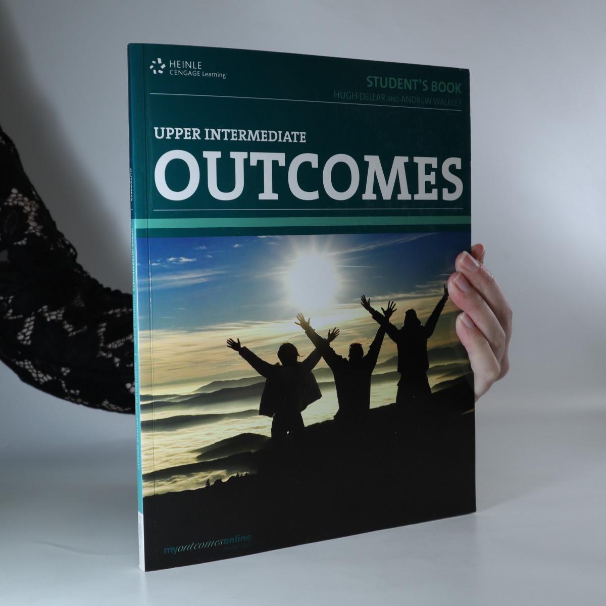 antikvární kniha Outcomes. Upper intermediate. Student's book, neuveden