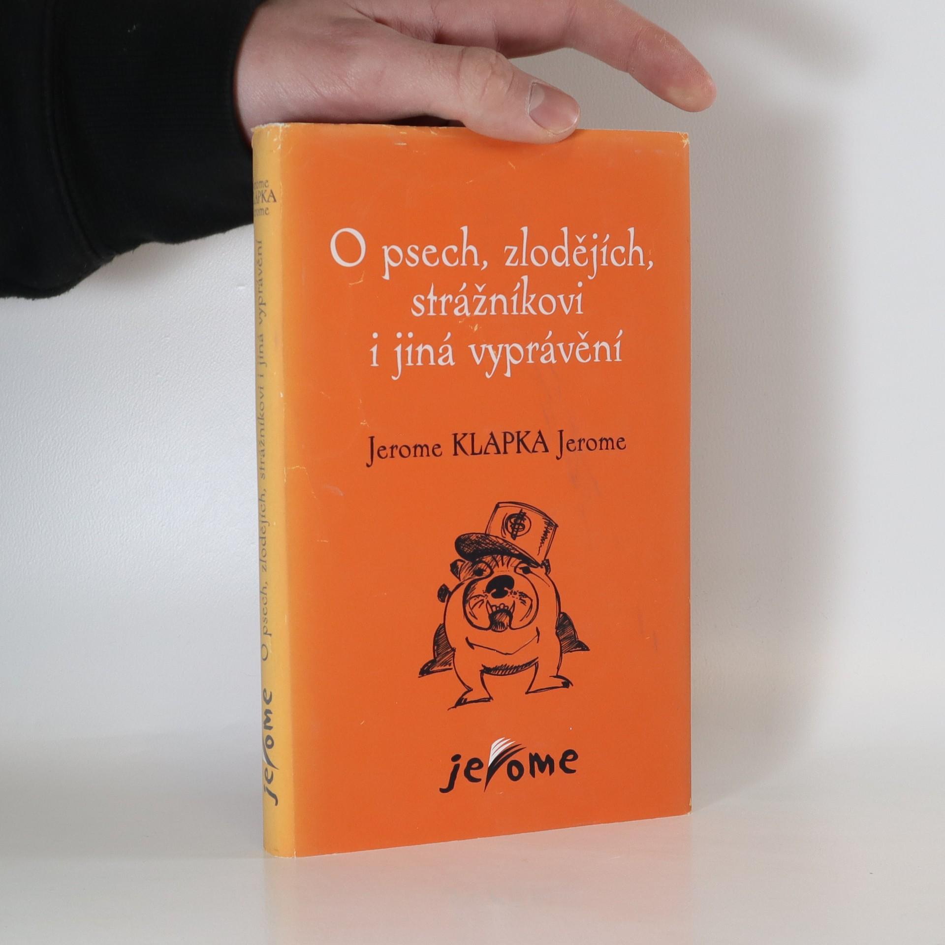 antikvární kniha O psech, zlodějích, strážníkovi i jiná vyprávění, 2001