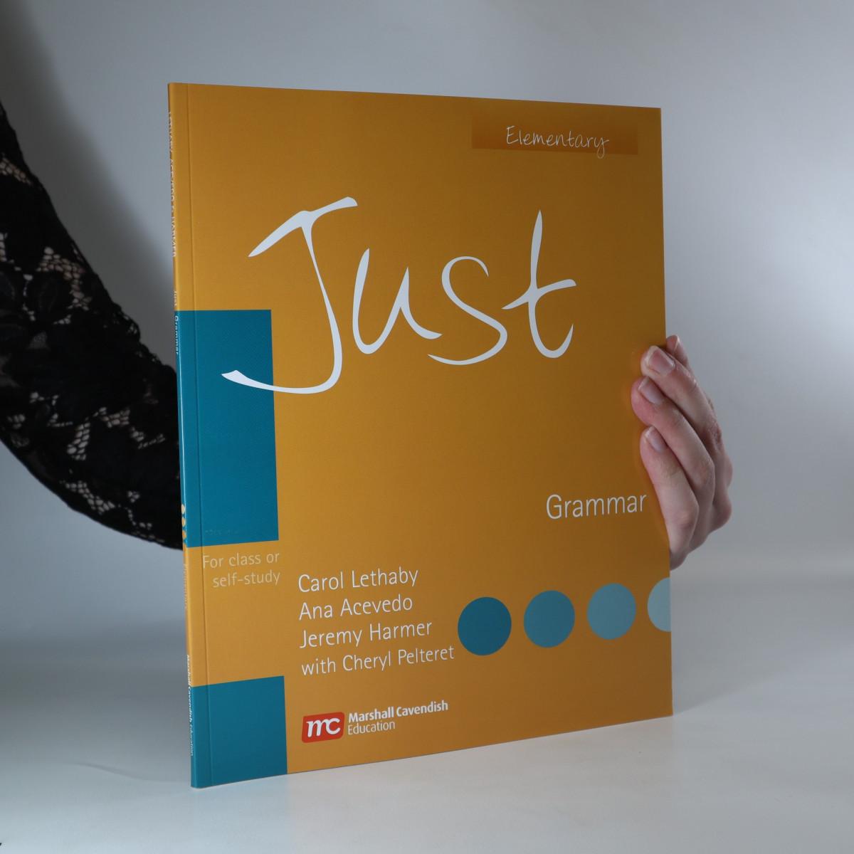 antikvární kniha Just. Elementary. Grammar, 2007