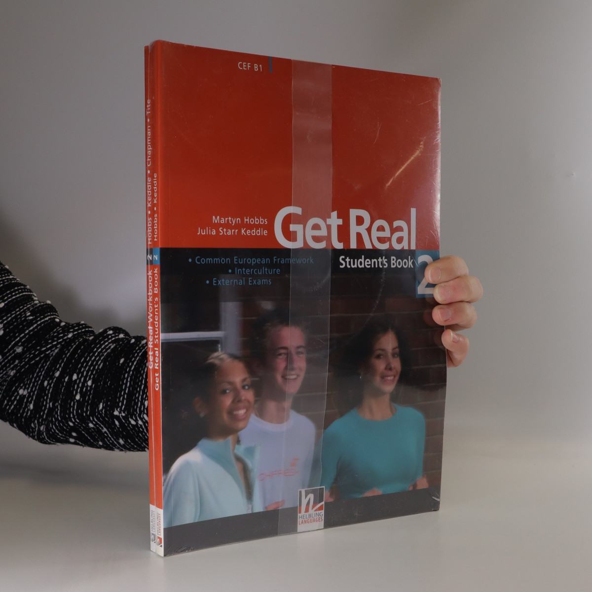 antikvární kniha Get Real 2 : Student's book. Workbook (2 svazky), neuveden