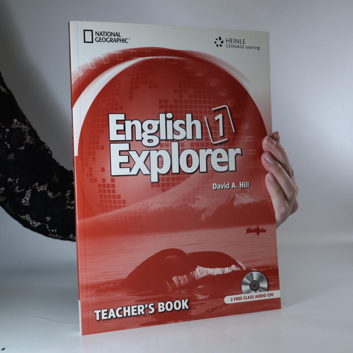 antikvární kniha English Explorer 1. Teacher's Book, neuveden