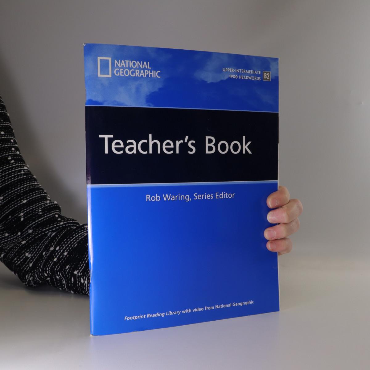 antikvární kniha Footprint Reading Library, Teacher's book, Upper-Intermediate/1900 Headwords /B2, neuveden