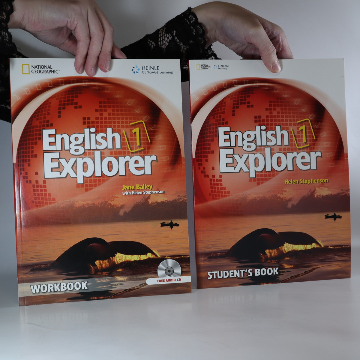 antikvární kniha English Explorer 1. Student's Book + Workbook, neuveden