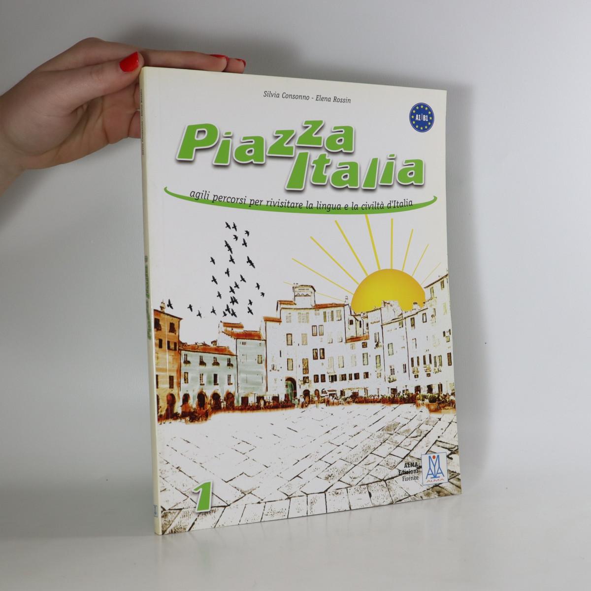 antikvární kniha Piazza Italia 1, neuveden