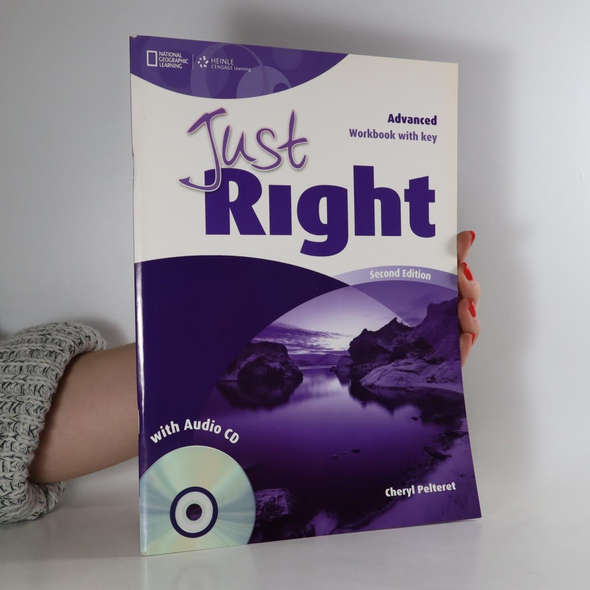 antikvární kniha Just Right, neuveden