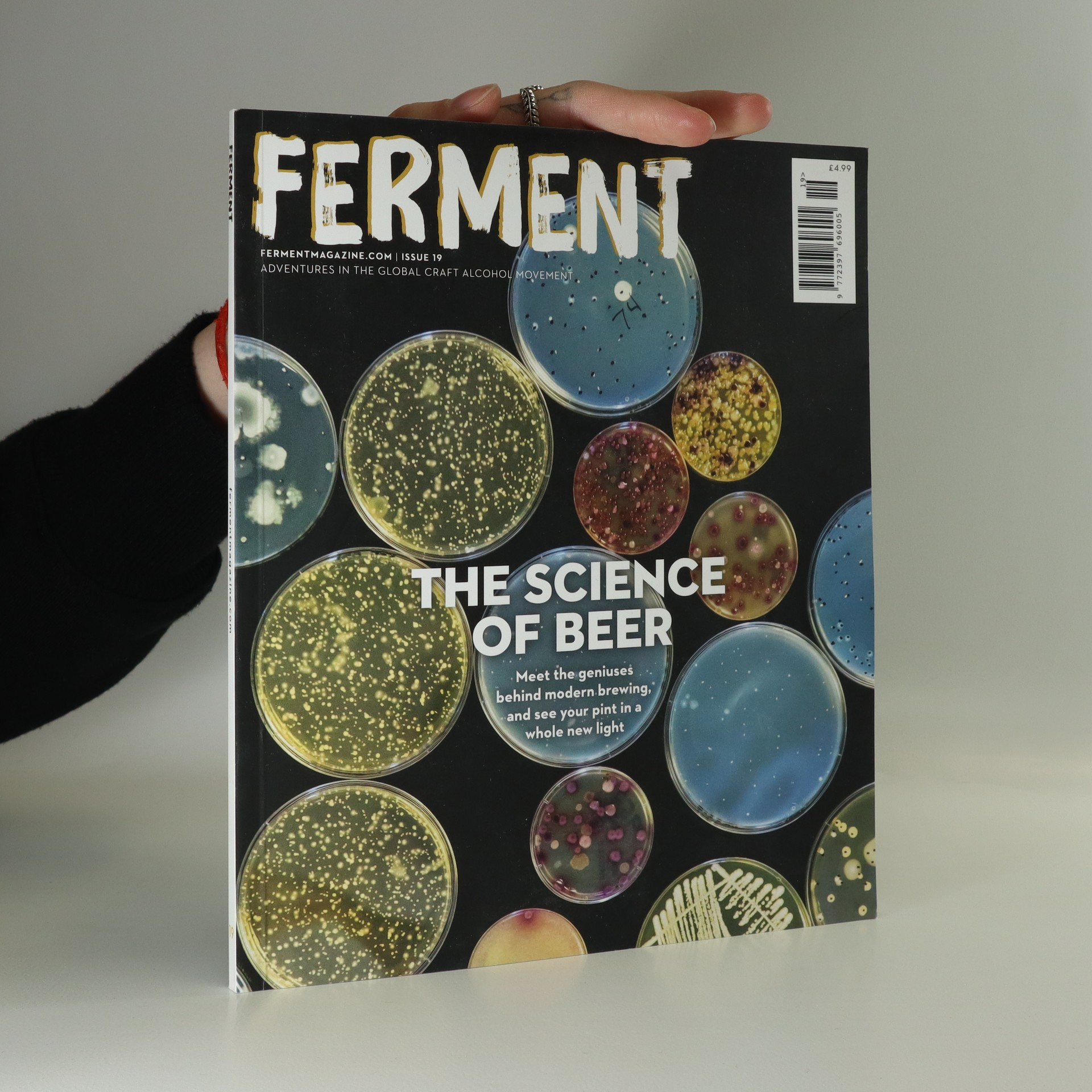 antikvární kniha Ferment - the Science of Beers, 2017