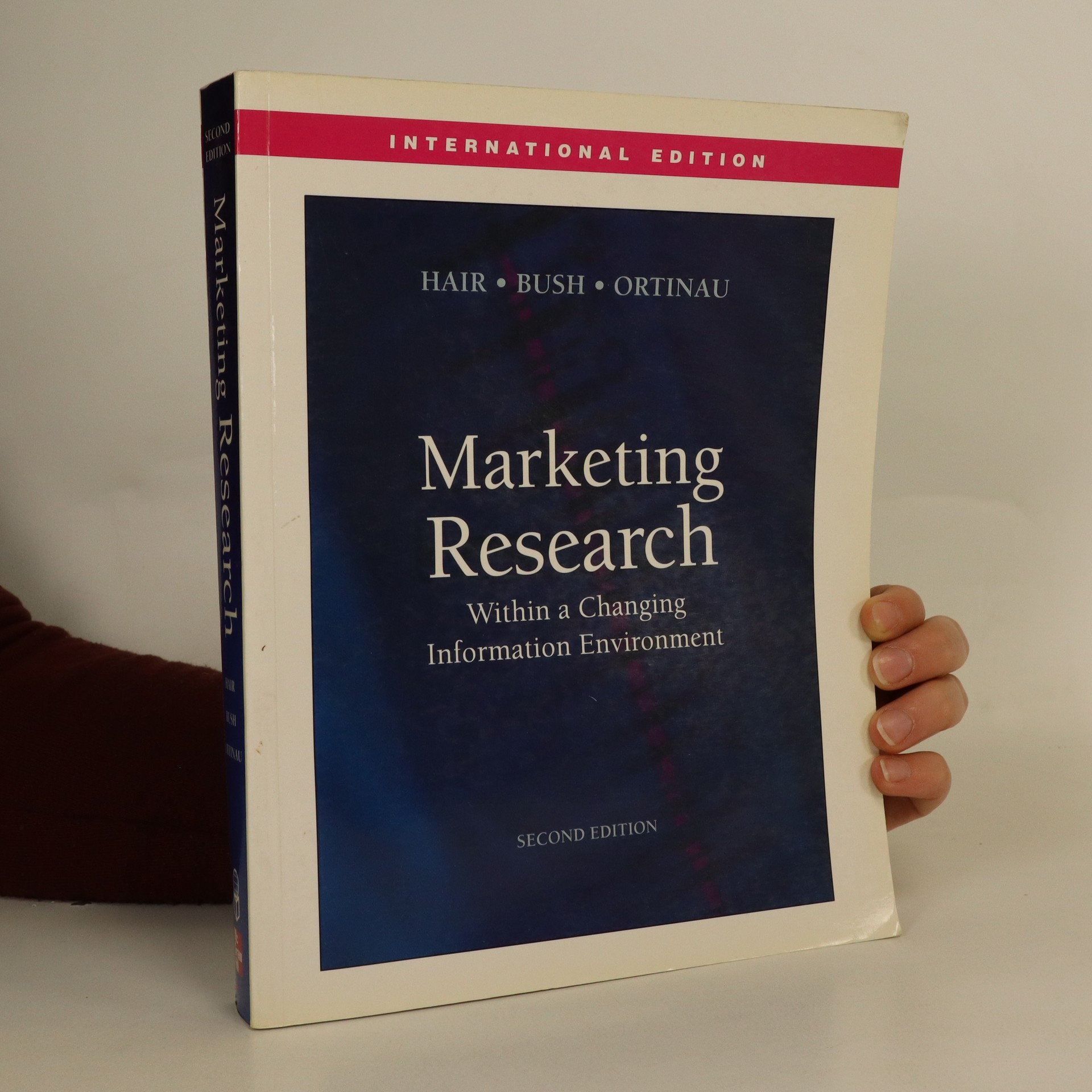 antikvární kniha Marketing research : within a changing information environment, 2004