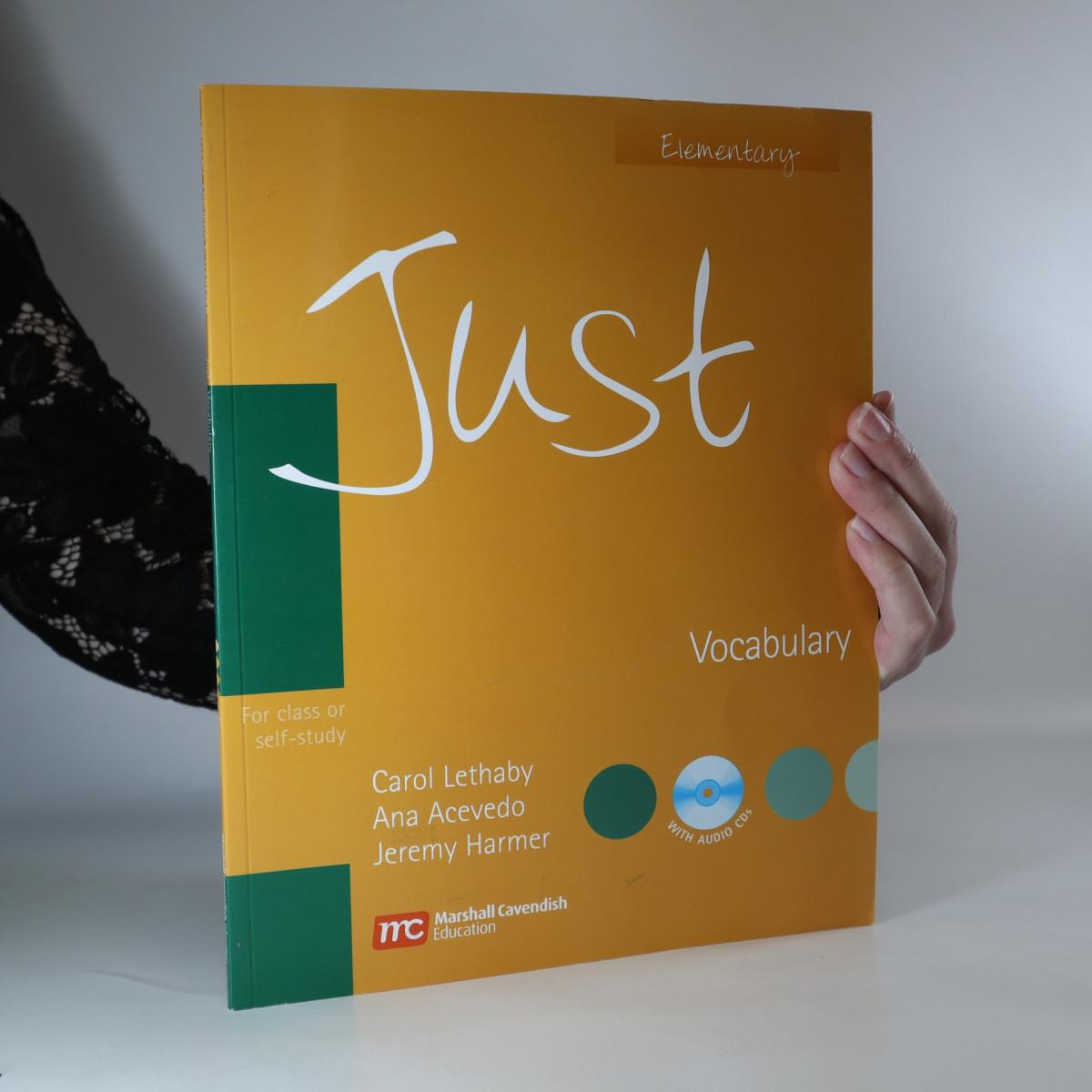 antikvární kniha Just. Elementary. Vocabulary, 2007
