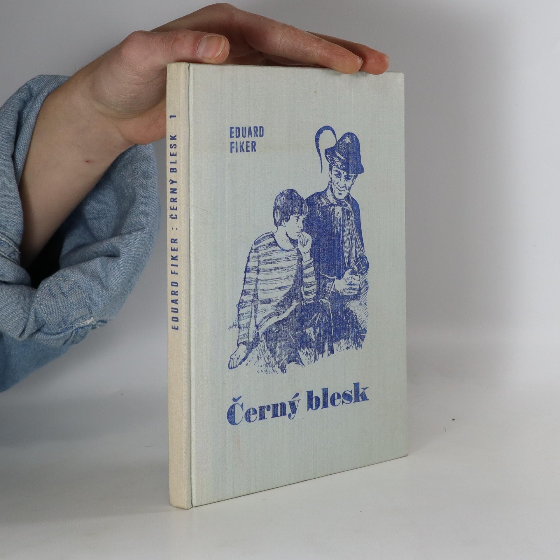 antikvární kniha Černý blesk, 1970