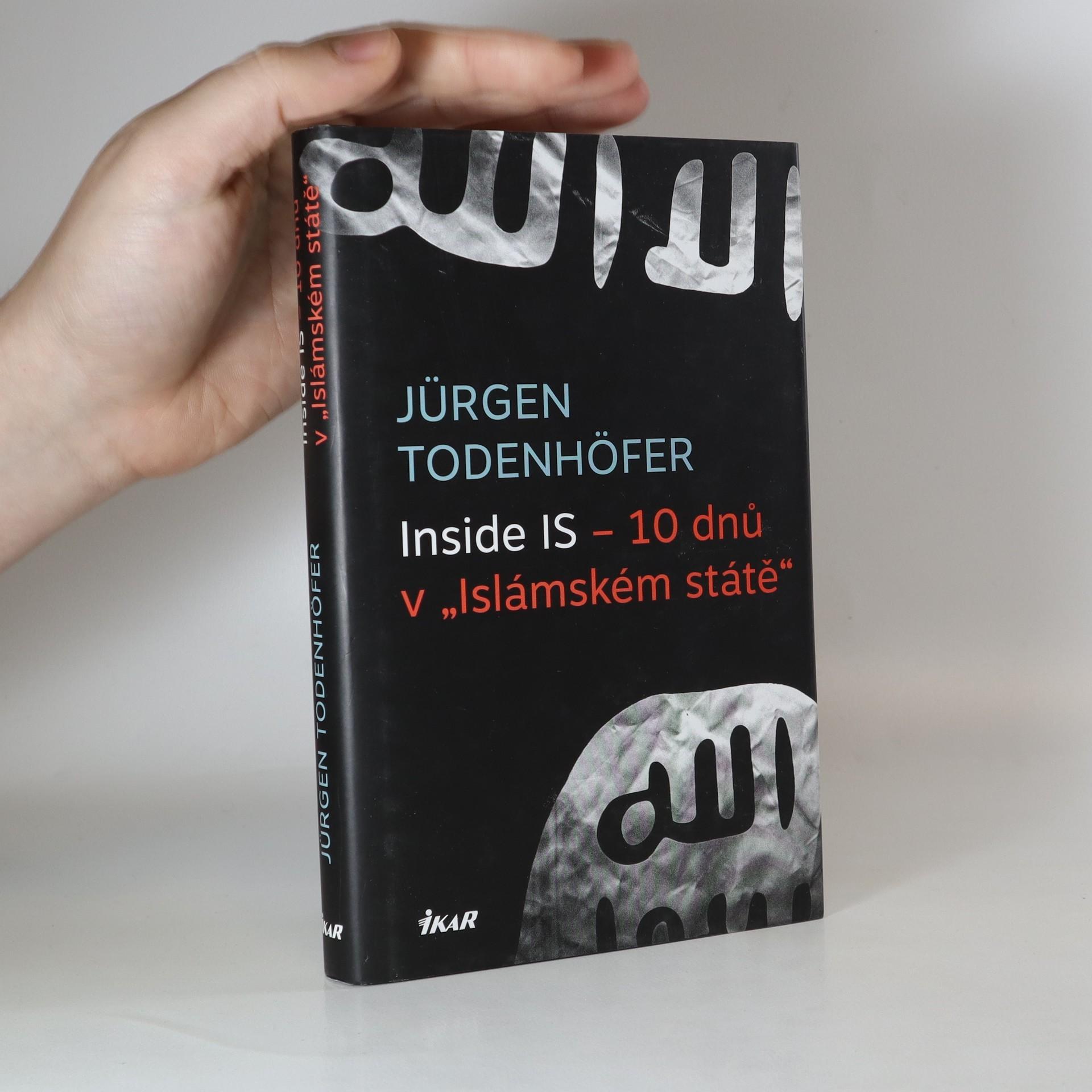 antikvární kniha Inside IS - 10 dnů v