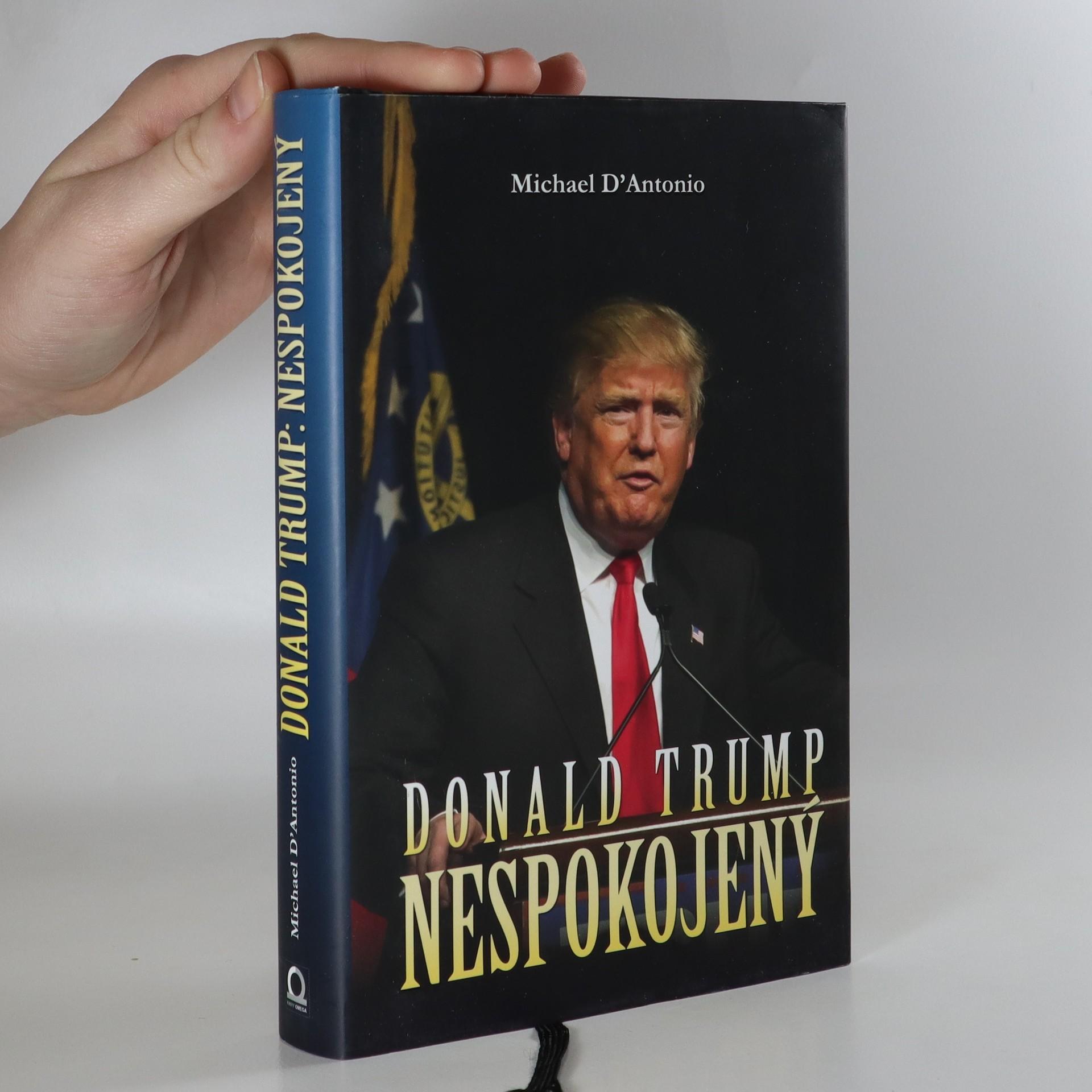 antikvární kniha Donald Trump. Nespokojený, 2016
