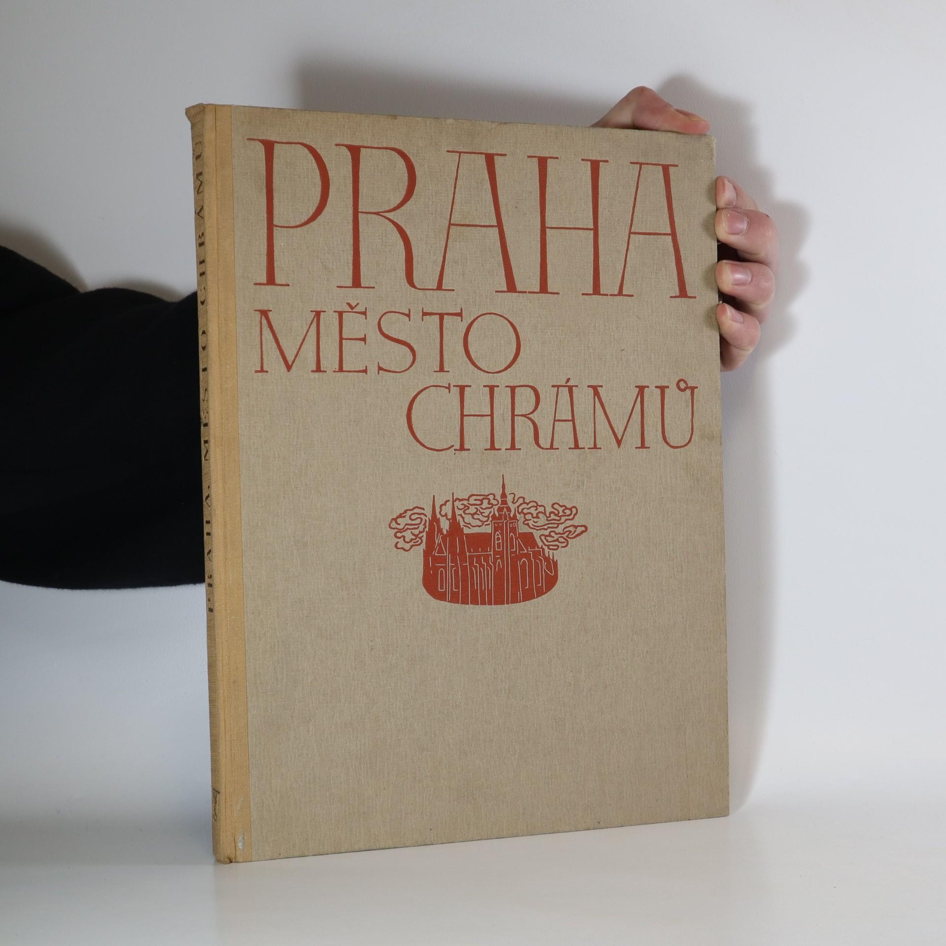 antikvární kniha Praha, město chrámů, 1937
