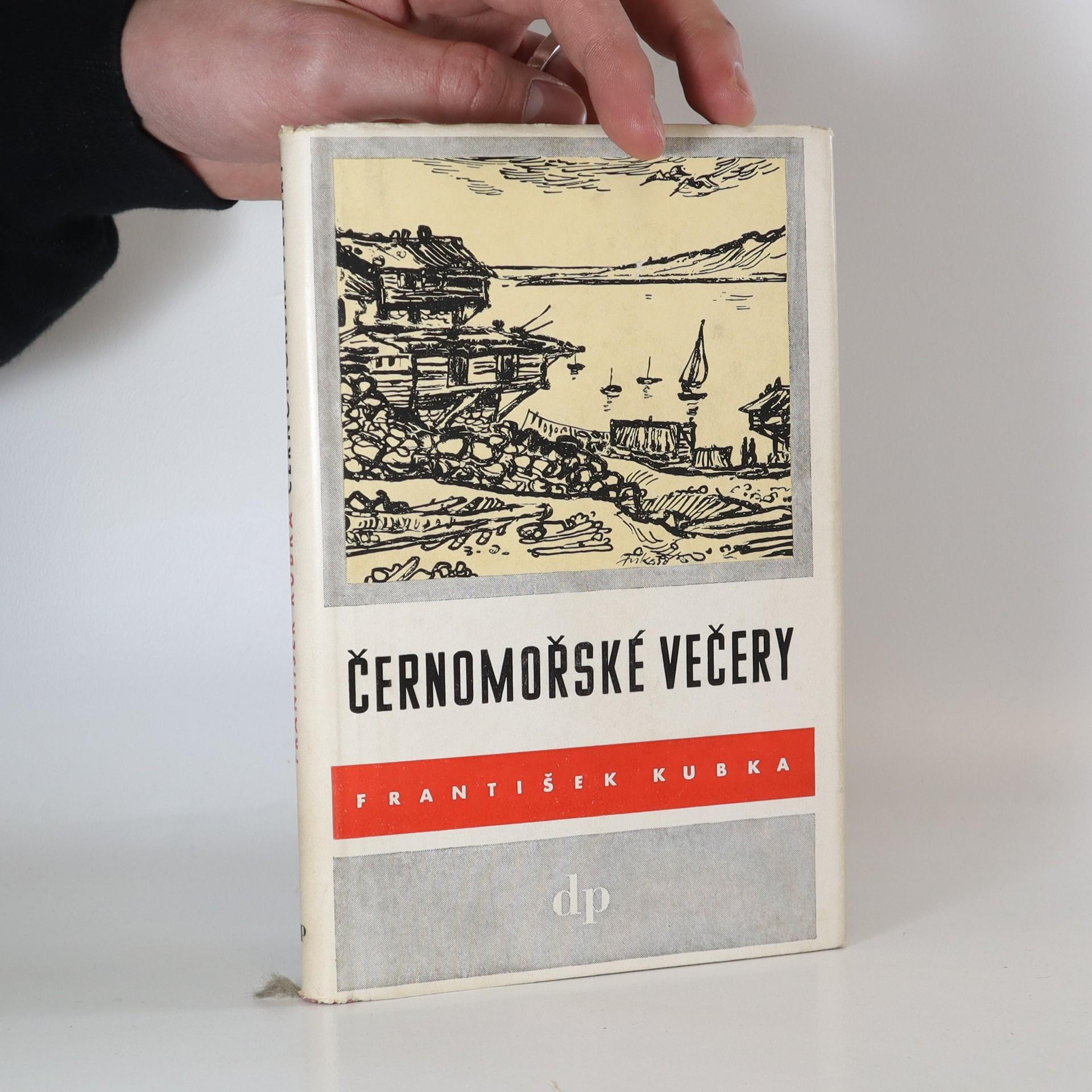 antikvární kniha Černomořské večery, 1950