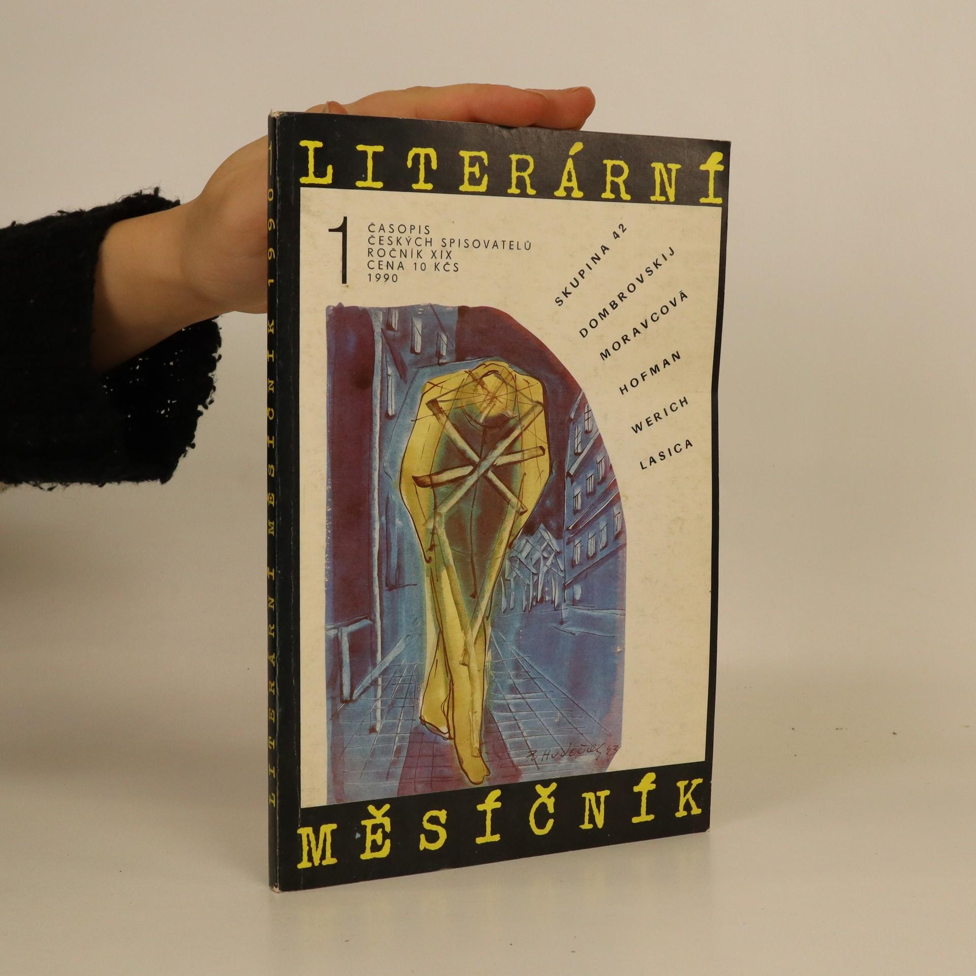 antikvární kniha Literární měsíčník, ročník XIX (1/1990), 1990