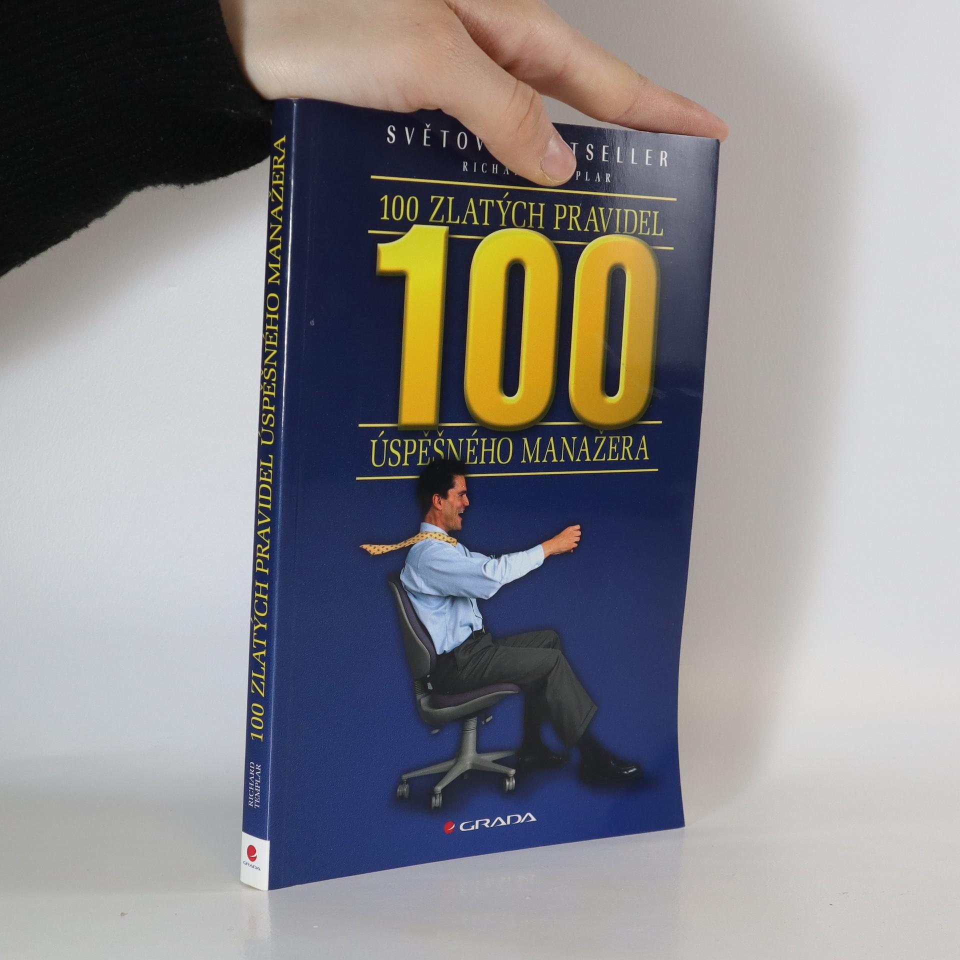 antikvární kniha 100 zlatých pravidel úspěšného manažera, 2006