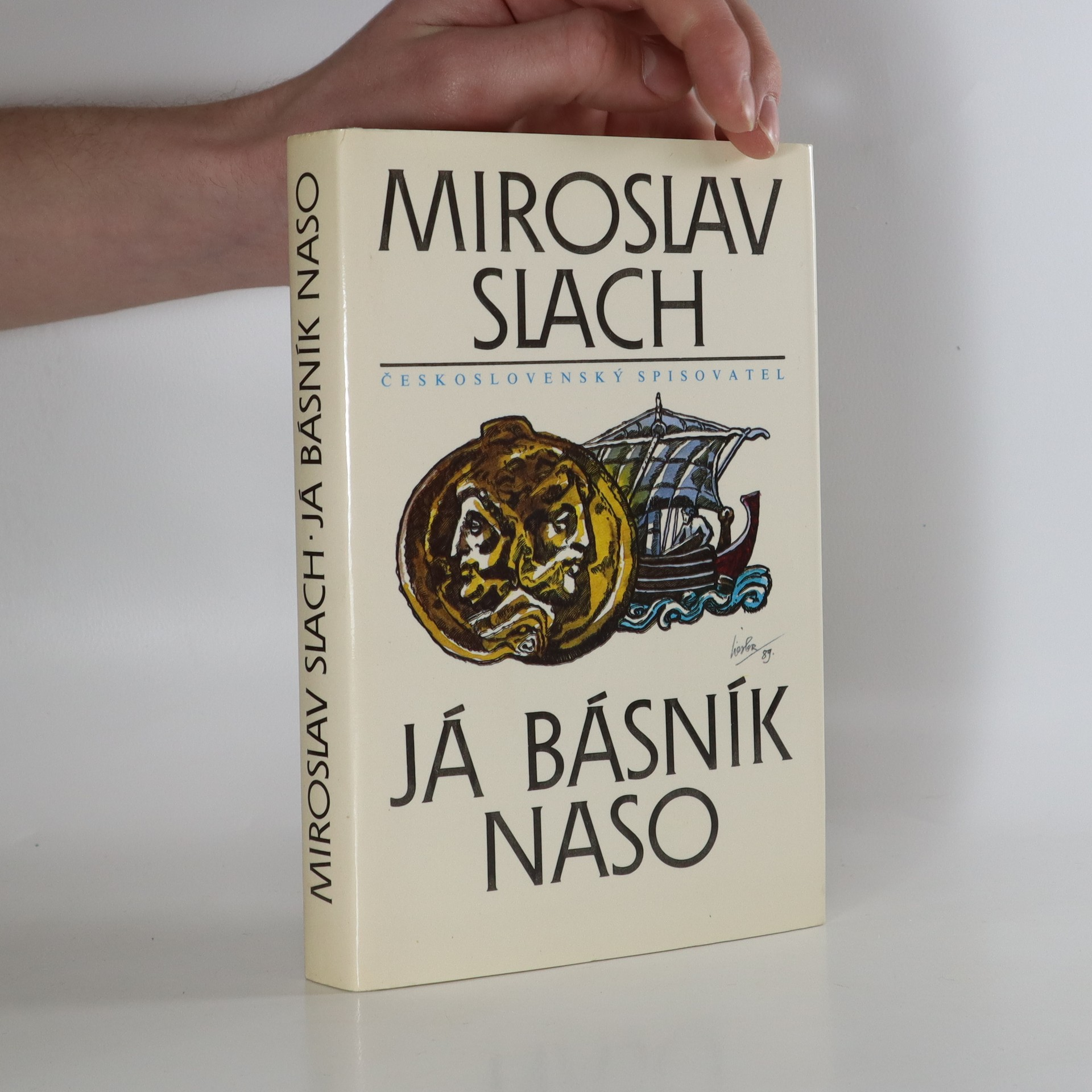 antikvární kniha Já básník Naso, 1990