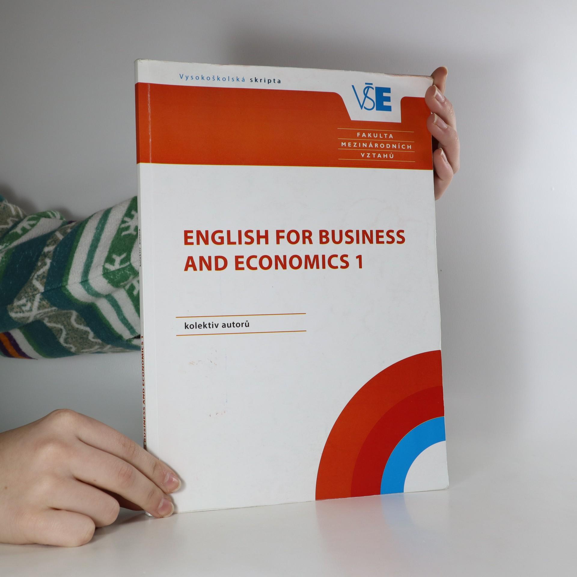 antikvární kniha English for business and economics 1, neuveden