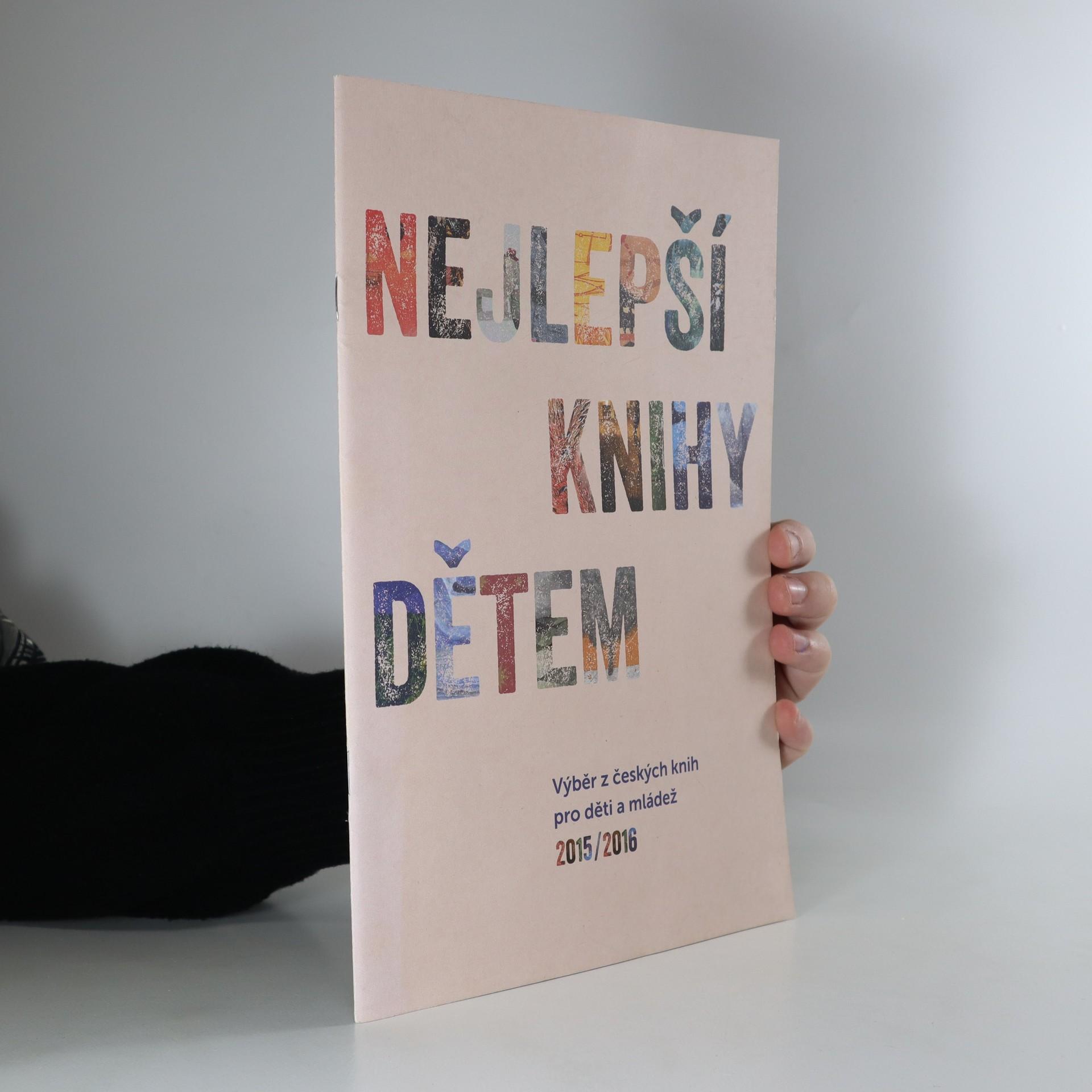 antikvární kniha Nejlepší knihy dětem, 2016