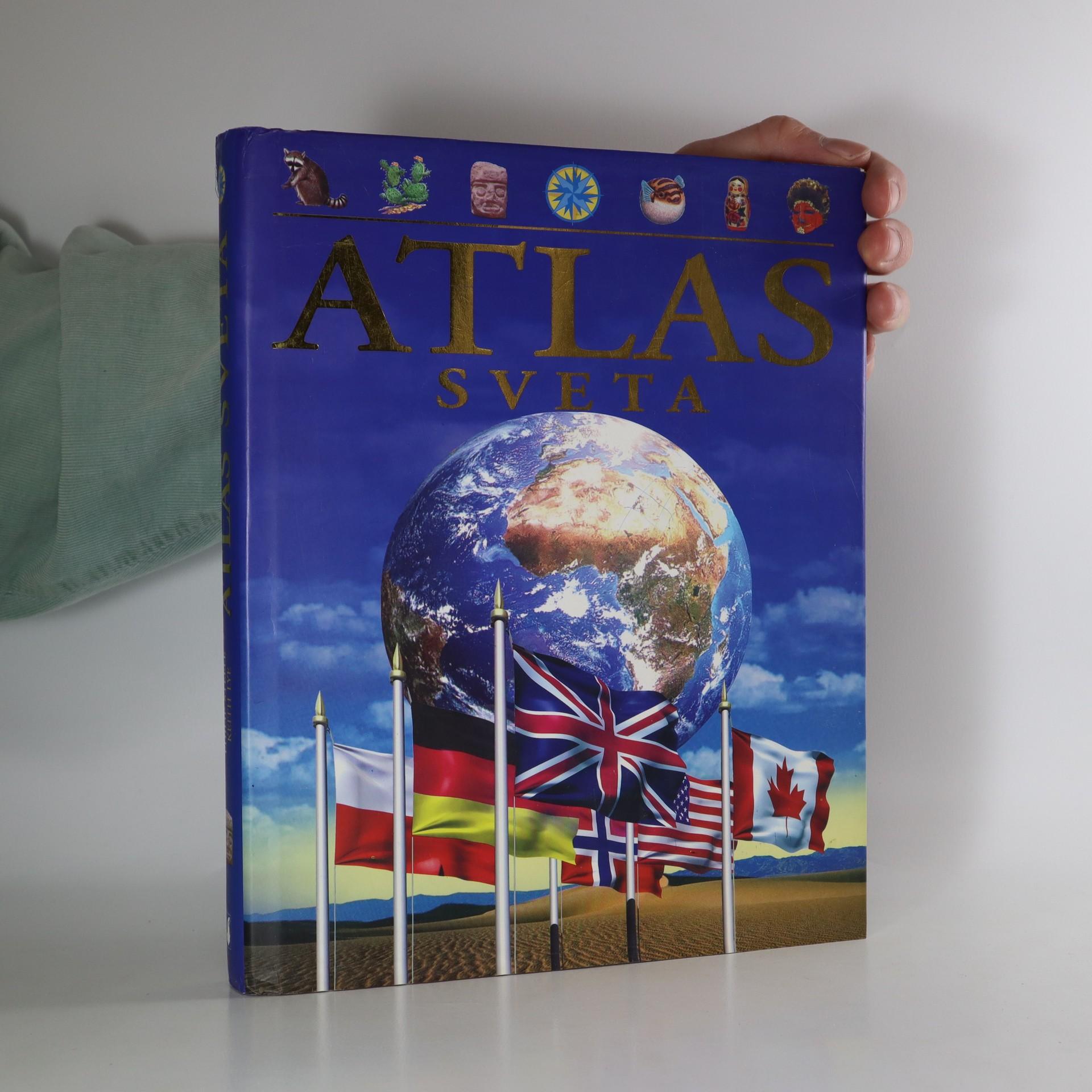 antikvární kniha Atlas sveta, 2005
